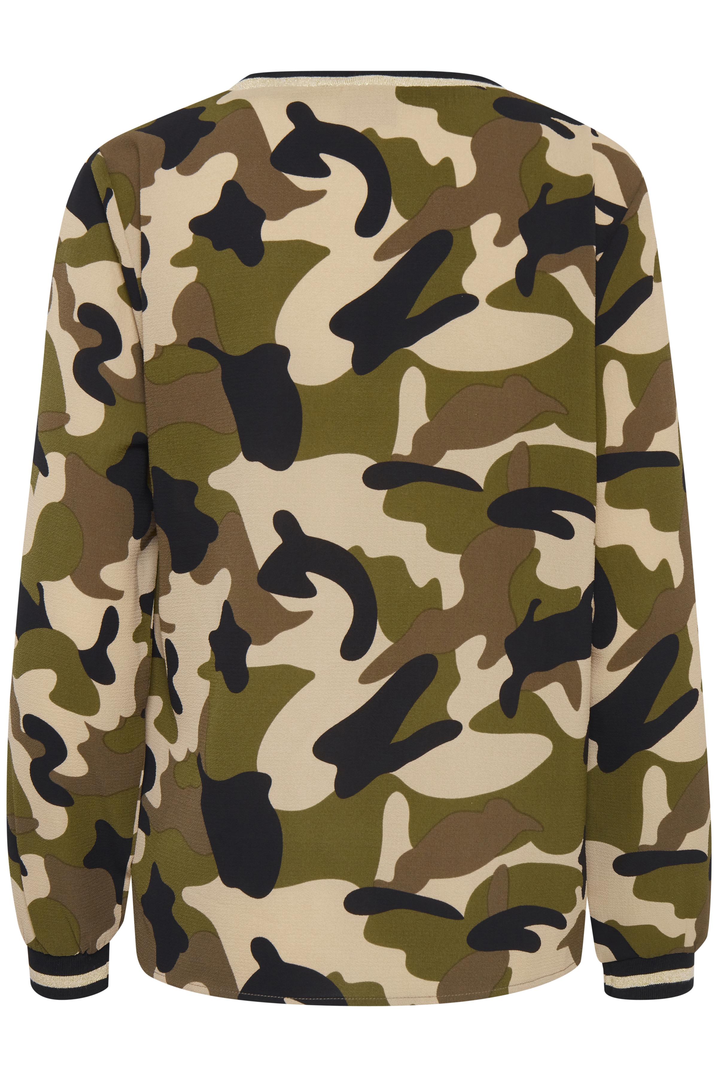 Camo combi 1 Langarm-Bluse von b.young – Kaufen Sie Camo combi 1 Langarm-Bluse aus Größe 36-44 hier
