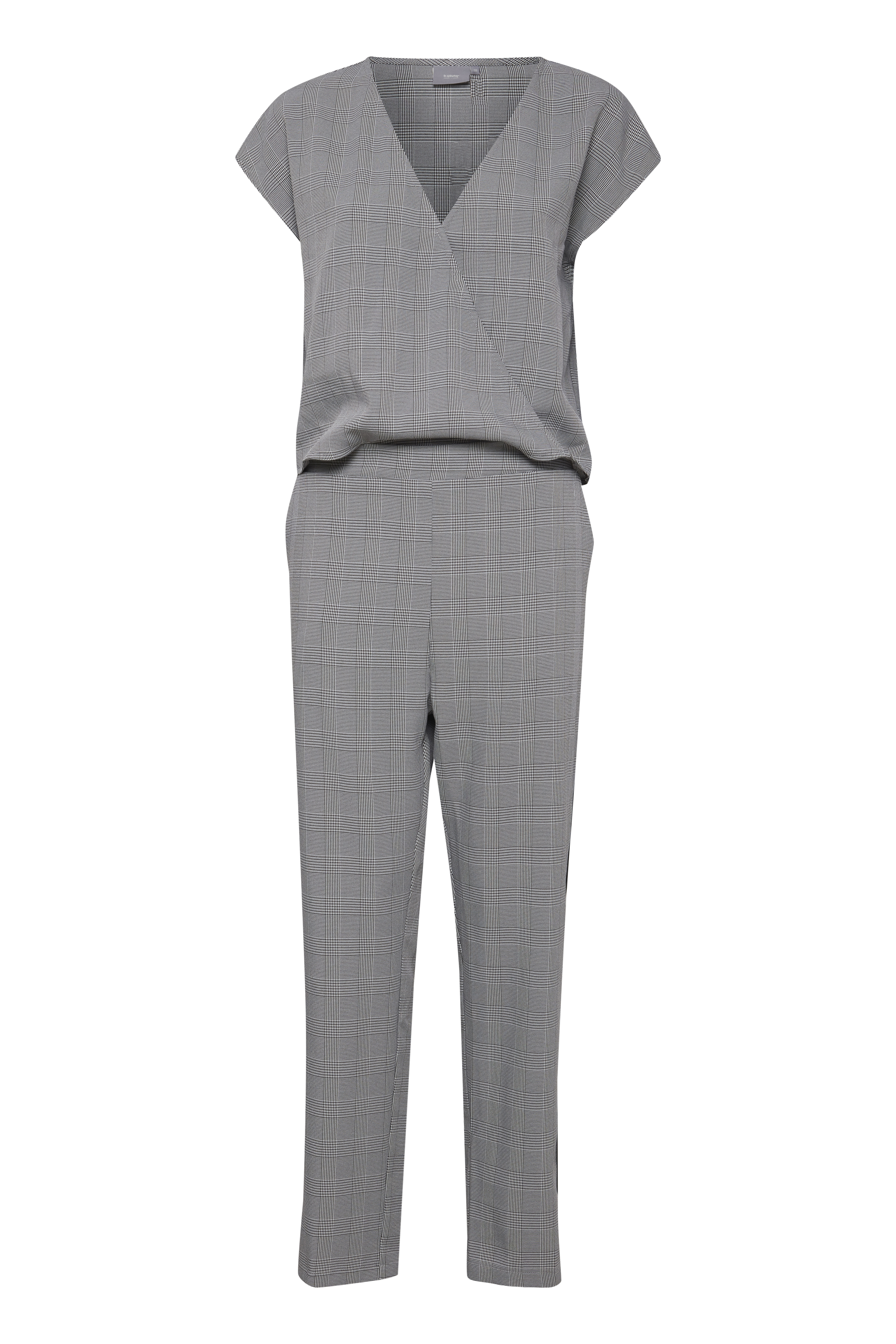 Check combi 1 Jumpsuit from b.young – Buy Check combi 1 Jumpsuit from size 36-44 here