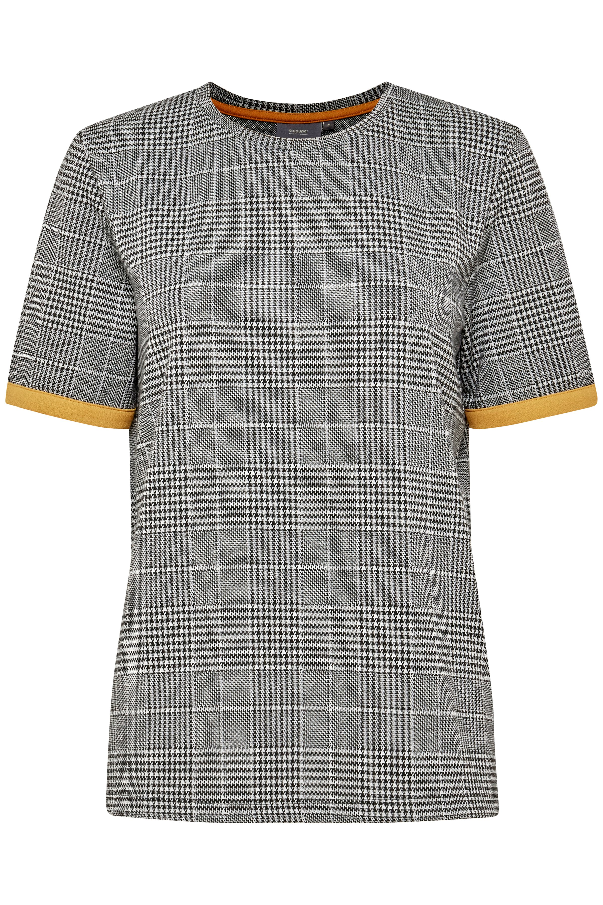 Check combi 1 T-shirt from b.young – Buy Check combi 1 T-shirt from size XS-XXL here