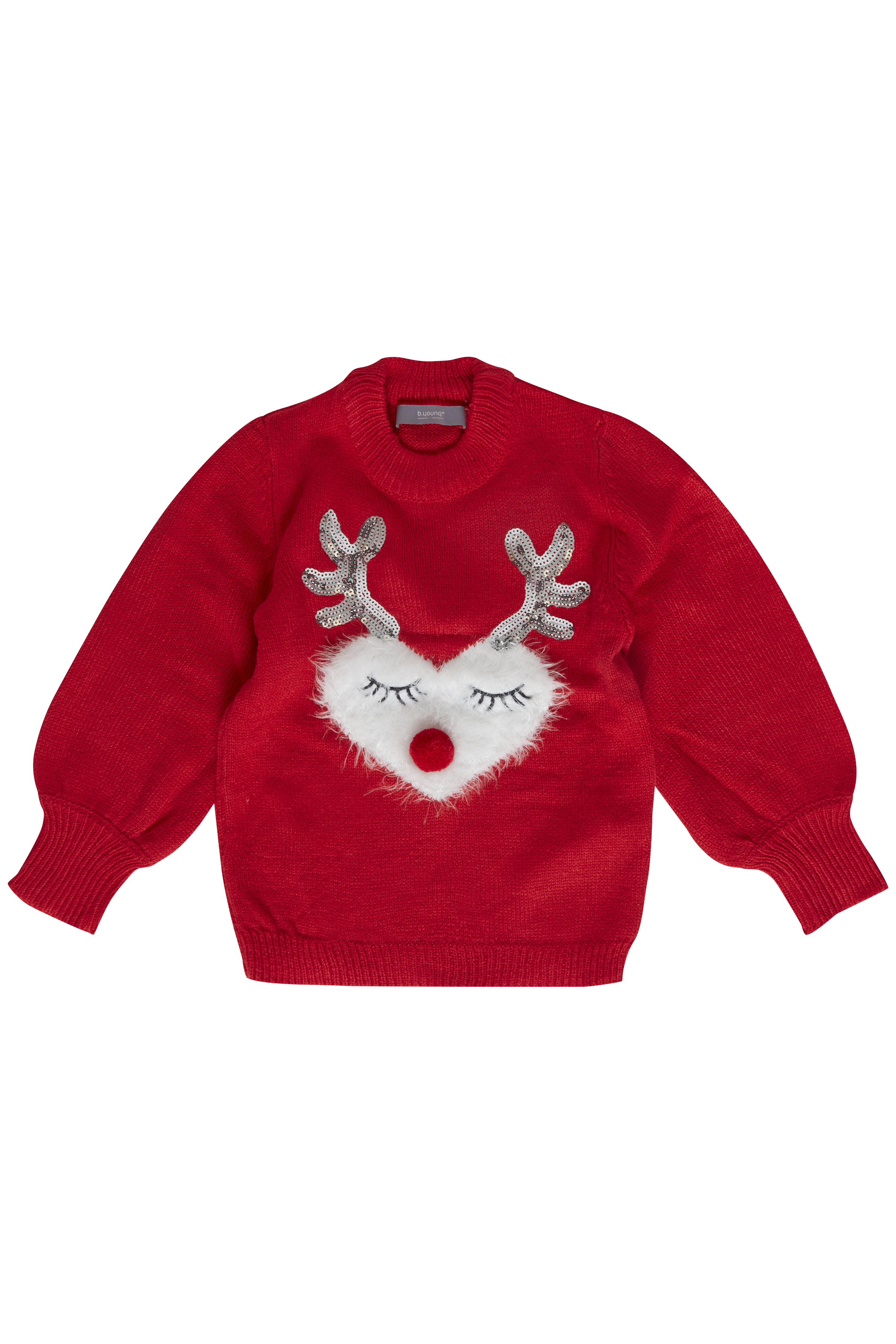 Chinese Red combi 2 Knitted pullover from b.young – Buy Chinese Red combi 2 Knitted pullover from size 92-134/140 here
