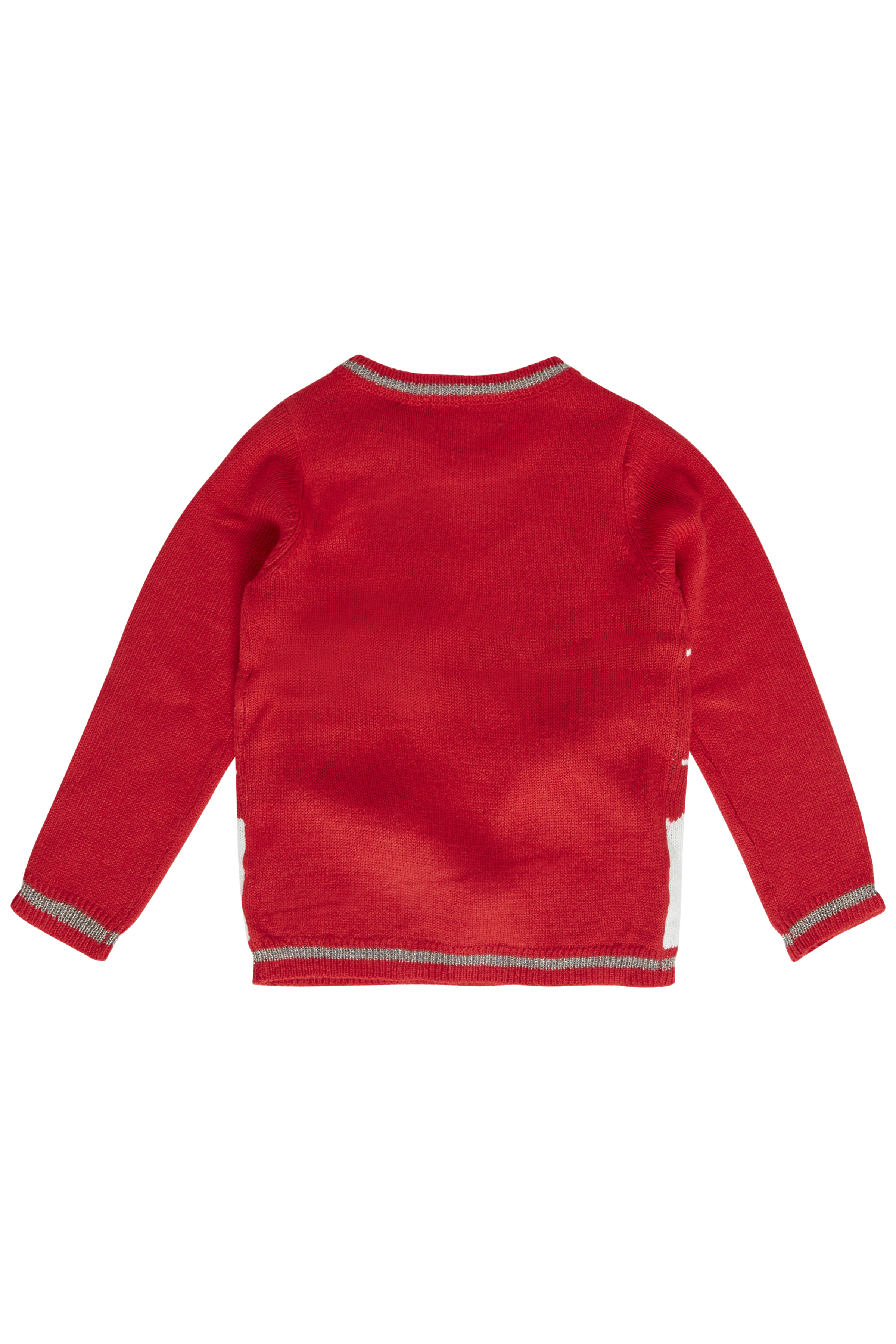 Chinese Red combi 3 Strikket pullover fra b.young - Kjøp Chinese Red combi 3 Strikket pullover fra størrelse 92-134/140 her
