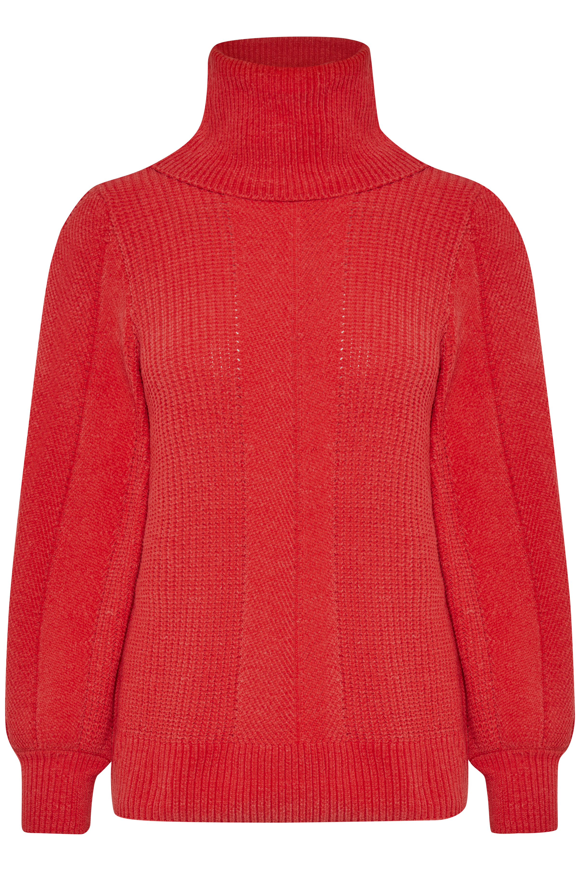 Chinese Red Knitted pullover from b.young – Buy Chinese Red Knitted pullover from size XS-XXL here