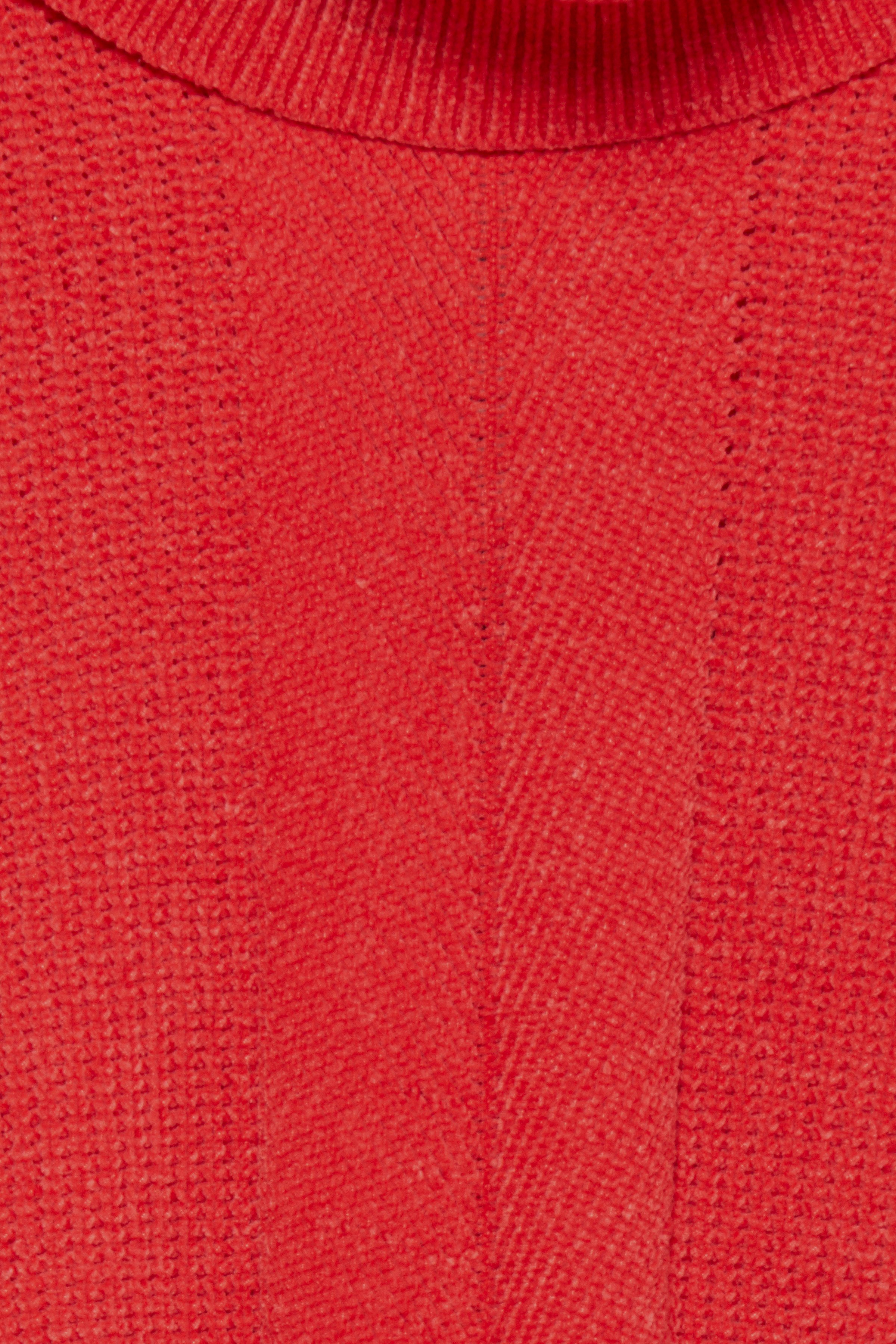 Chinese Red Strikpullover fra b.young – Køb Chinese Red Strikpullover fra str. XS-XXL her
