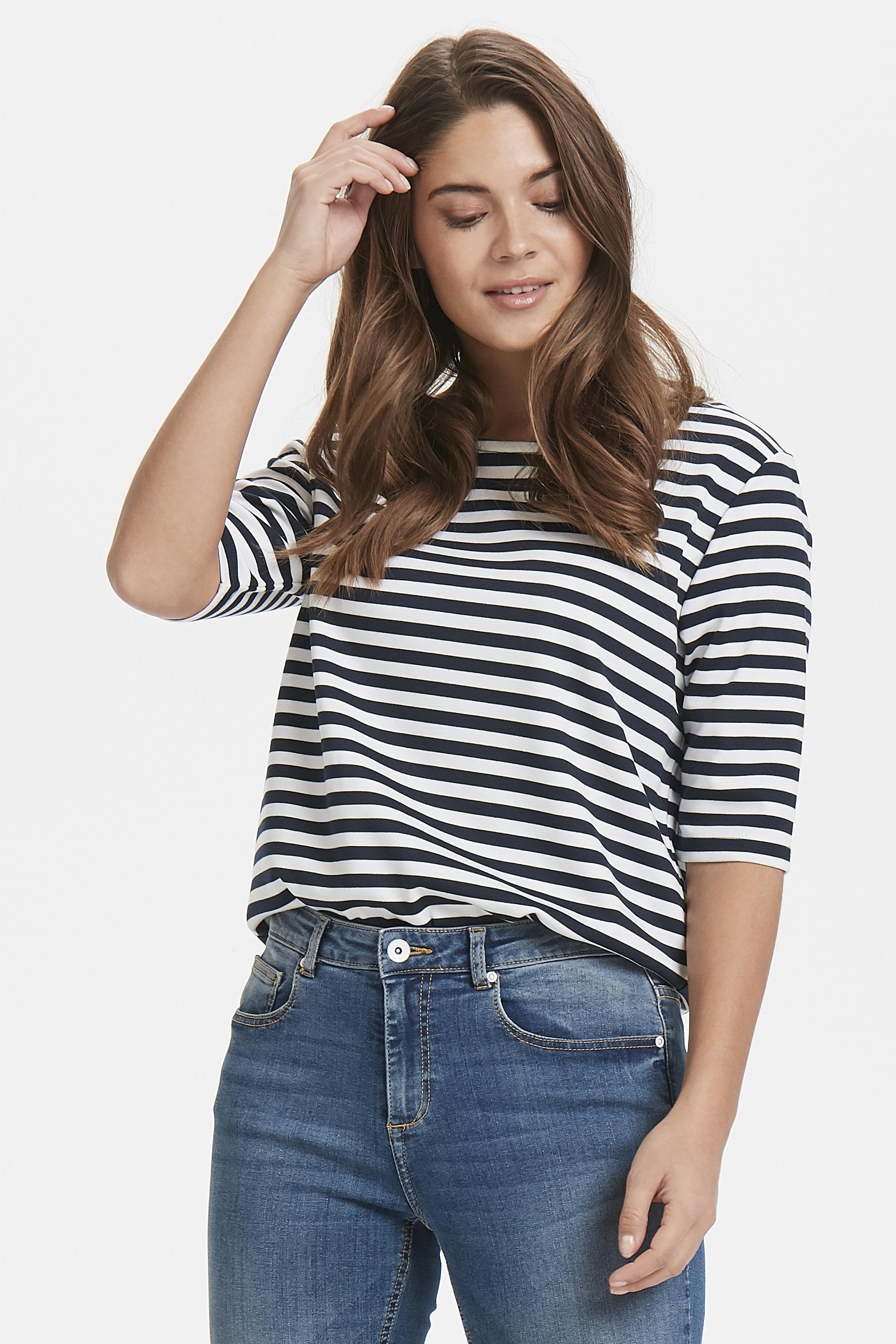 Copenhagen Night Big Stripe T-shirt von b.young – Kaufen Sie Copenhagen Night Big Stripe T-shirt aus Größe XS-XXL hier