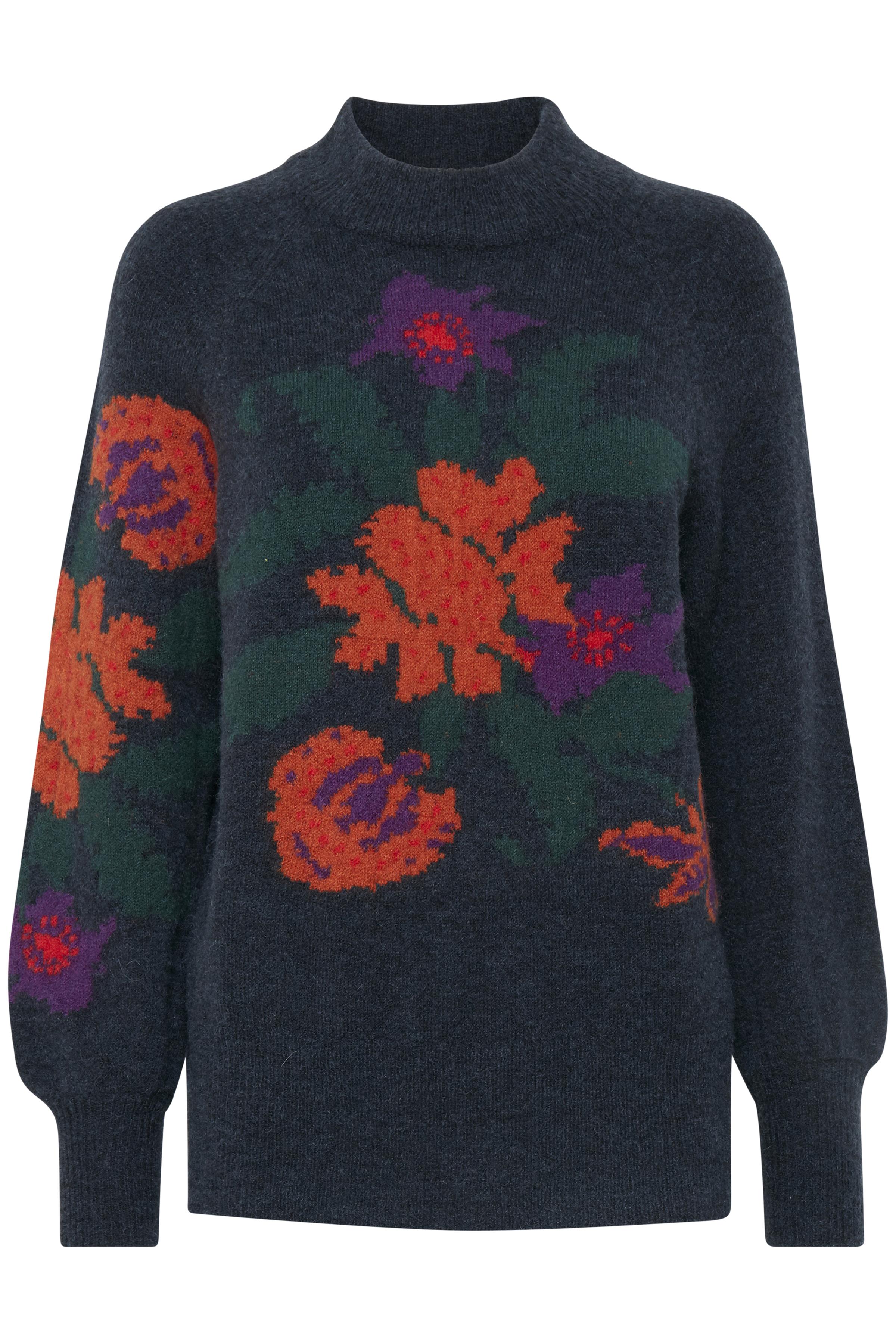 Copenhagen Night combi Stickad pullover från b.young – Köp Copenhagen Night combi Stickad pullover från storlek XS-XXL här