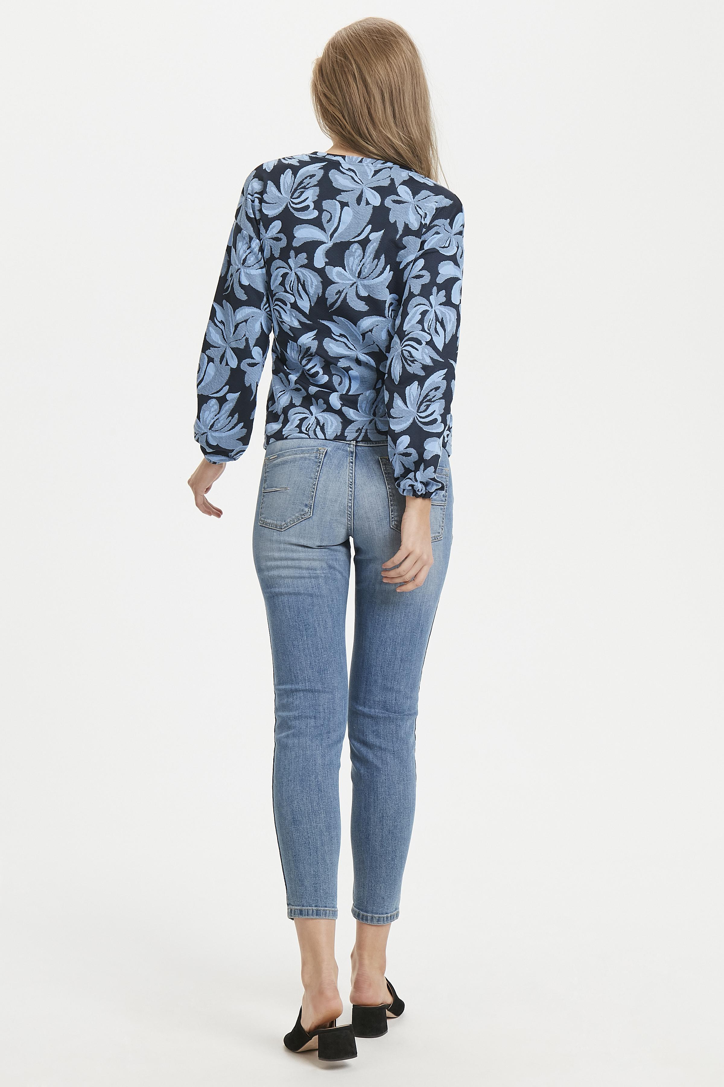 Cornflower blue combi 2 Langærmet T-shirt fra b.young – Køb Cornflower blue combi 2 Langærmet T-shirt fra str. S-XXL her