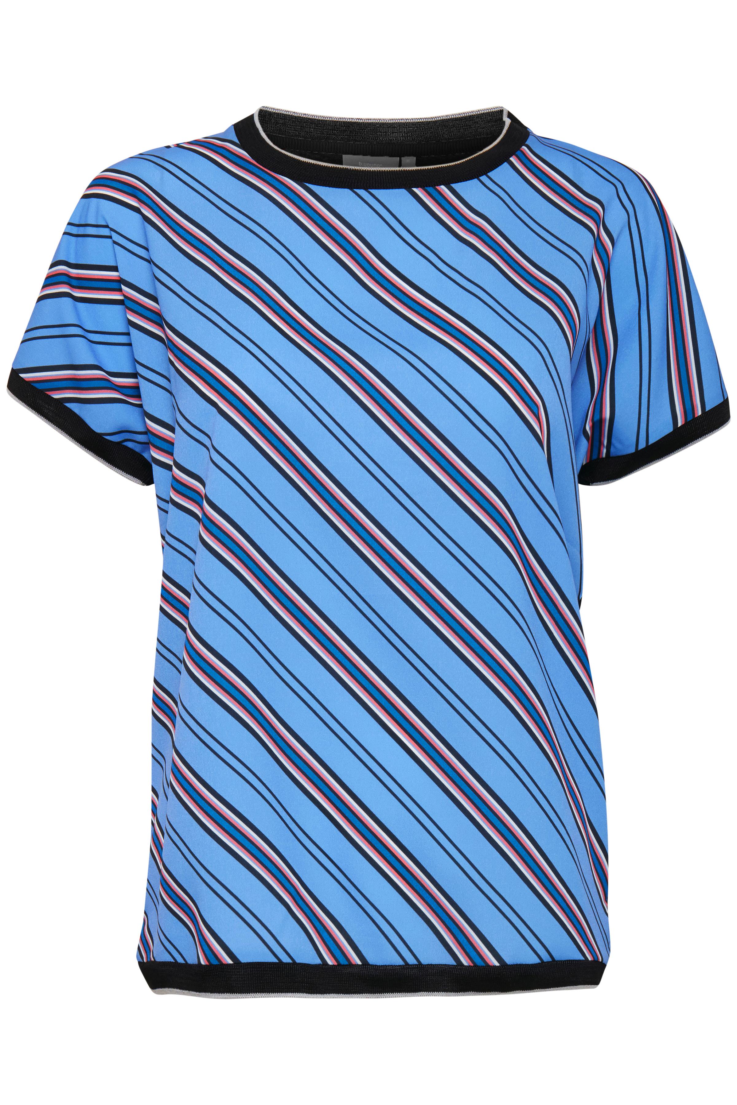 Cornflower blue combi 2 T-shirt von b.young – Kaufen Sie Cornflower blue combi 2 T-shirt aus Größe XS-XXL hier