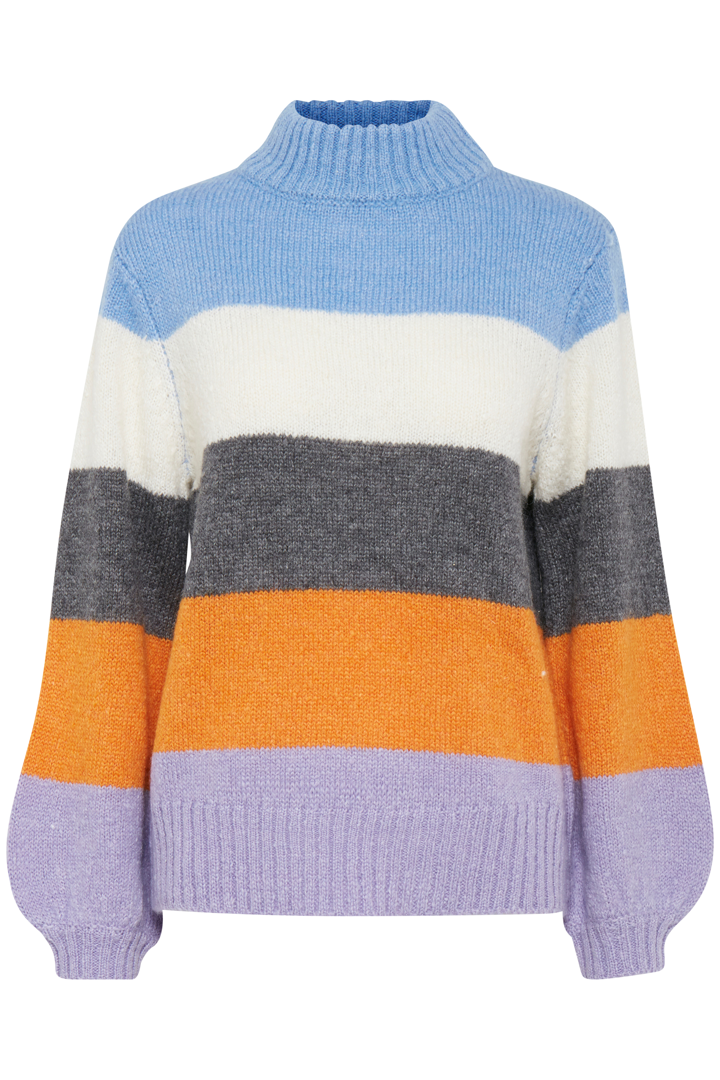 Cornflower Blue combi Knitted pullover from b.young – Buy Cornflower Blue combi Knitted pullover from size XS-XXL here