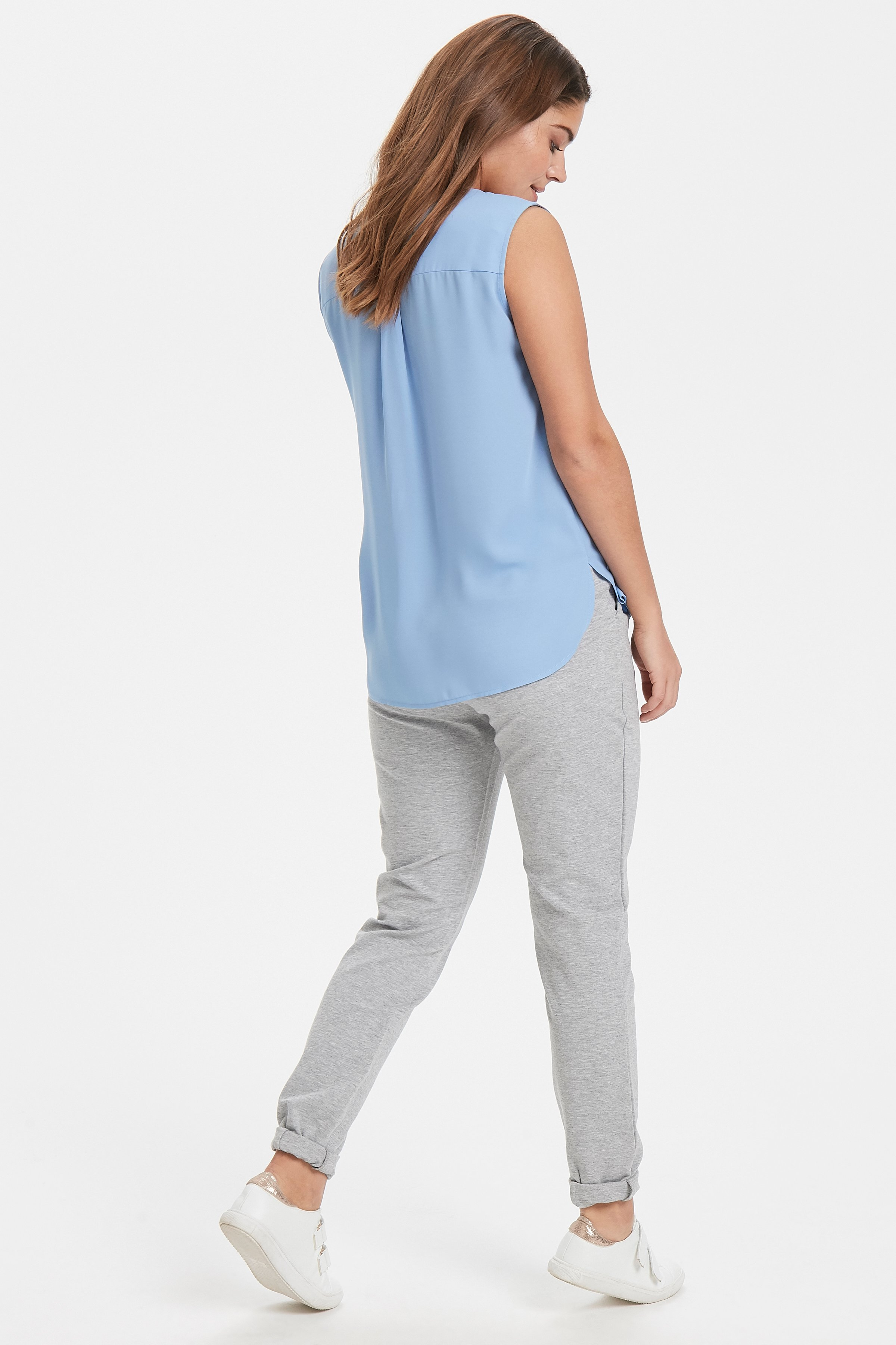 Cornflower Blue Hemd von b.young – Kaufen Sie Cornflower Blue Hemd aus Größe 34-46 hier