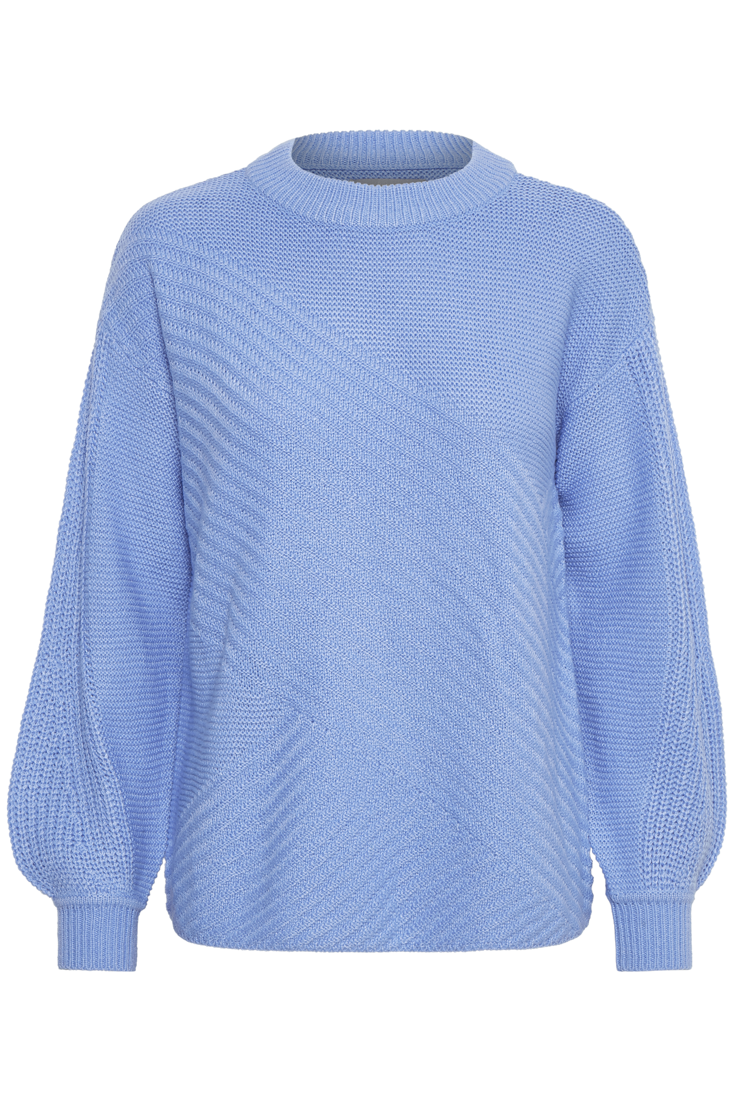 Cornflower Blue Knitted pullover from b.young – Buy Cornflower Blue Knitted pullover from size XS-XXL here