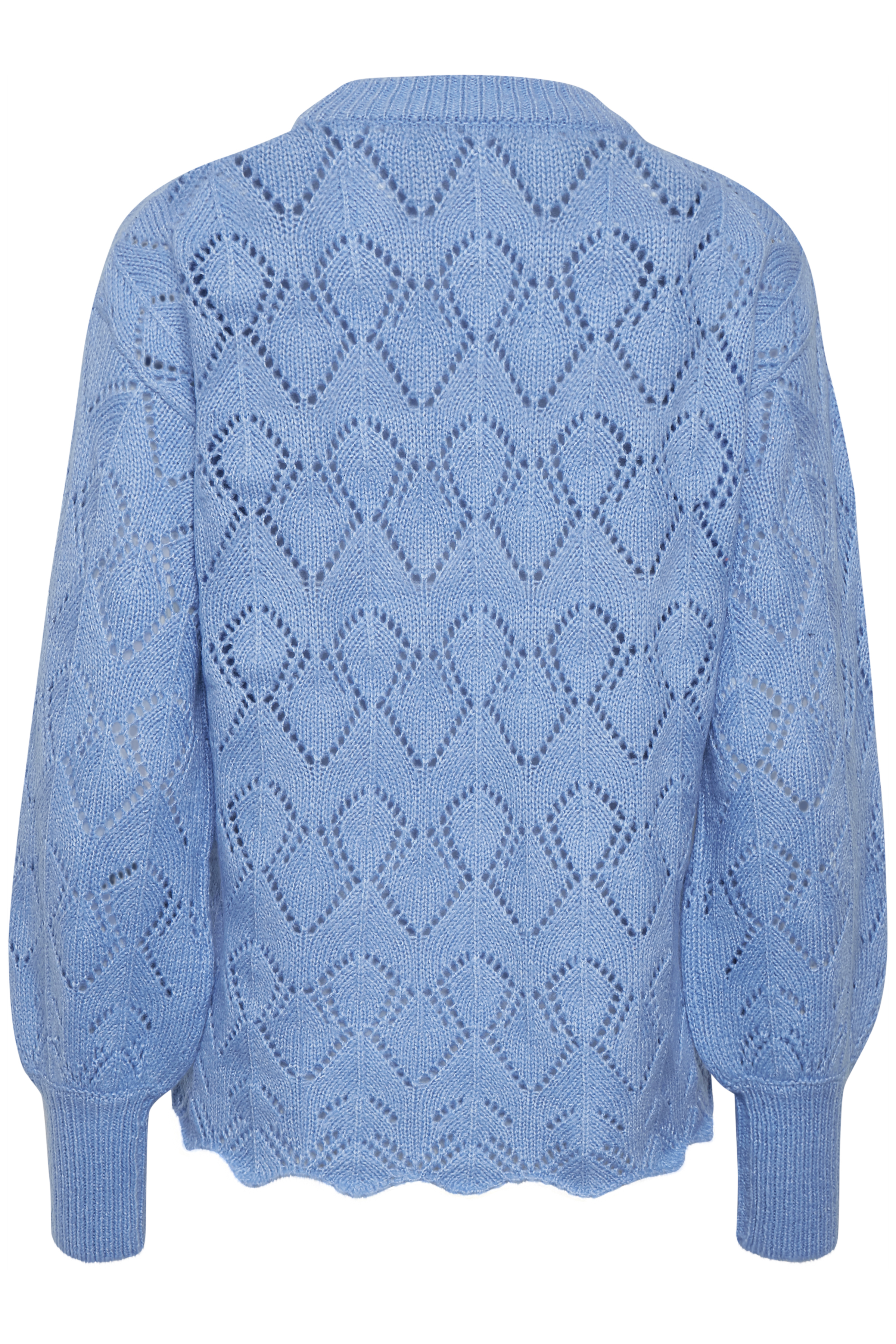 Cornflower Blue Mel. Knitted pullover from b.young – Buy Cornflower Blue Mel. Knitted pullover from size XS-XXL here