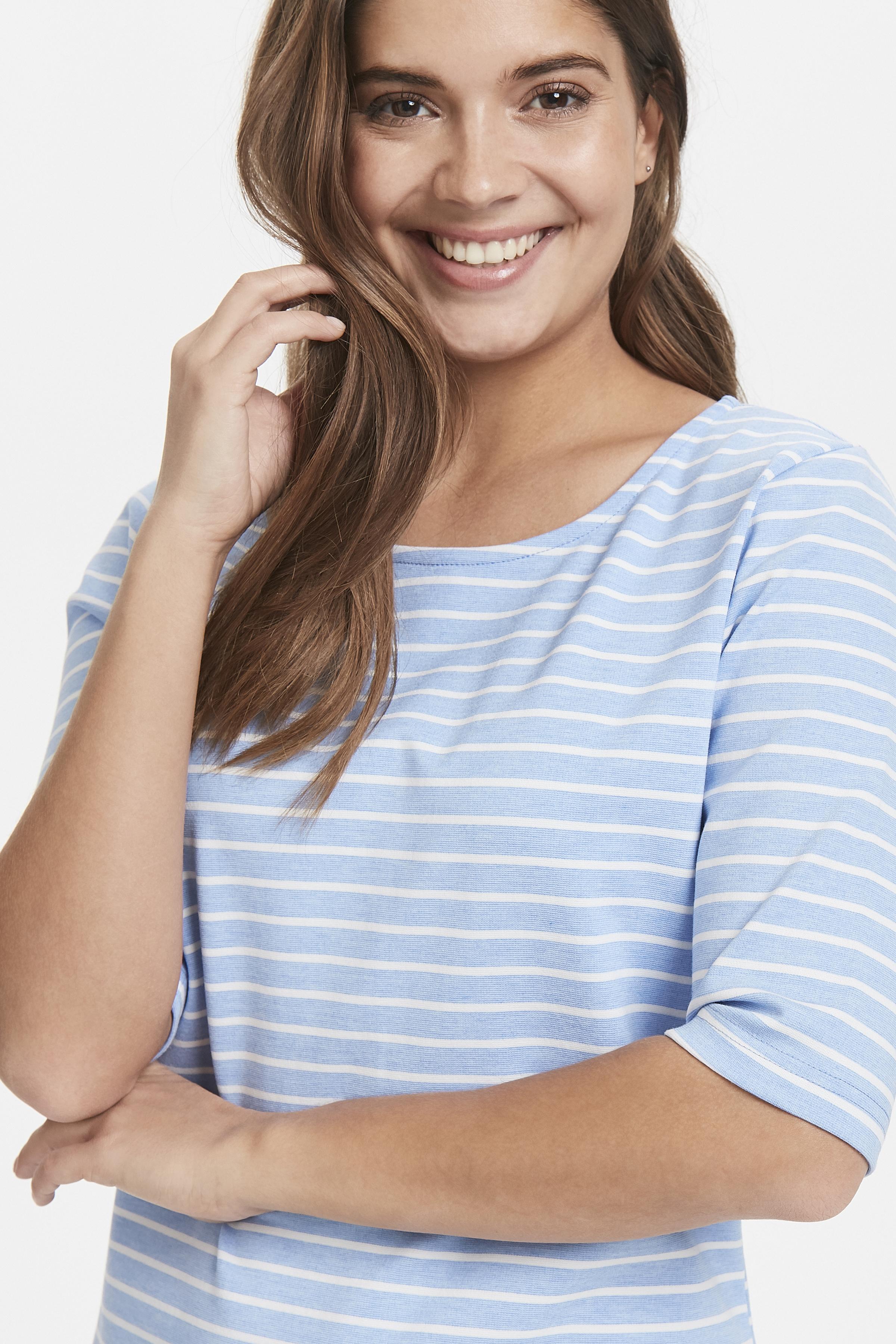 Cornflower Blue Mel. Stripe
