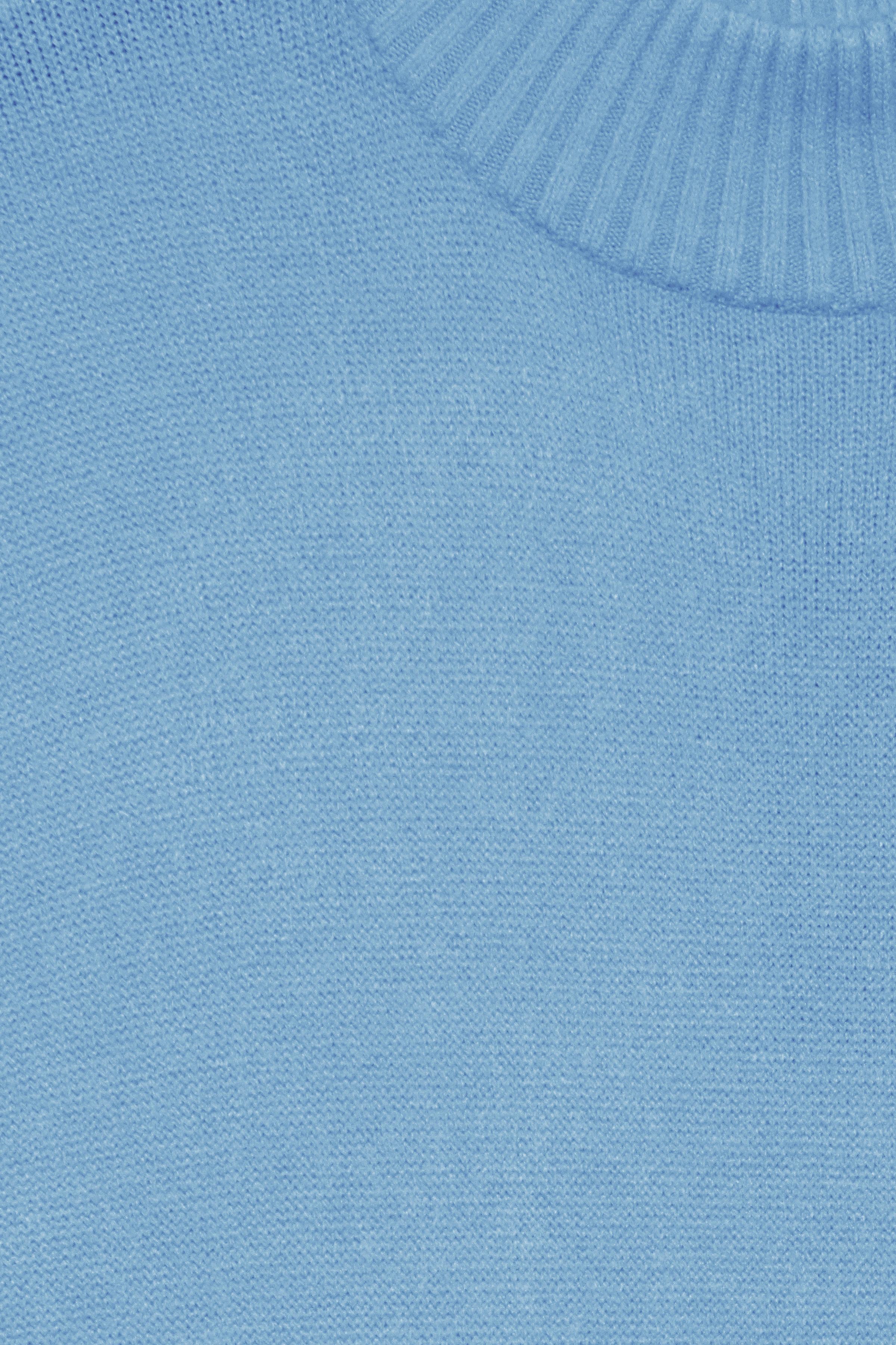 Cornflower Blue Strikpullover fra b.young – Køb Cornflower Blue Strikpullover fra str. XS-XXL her