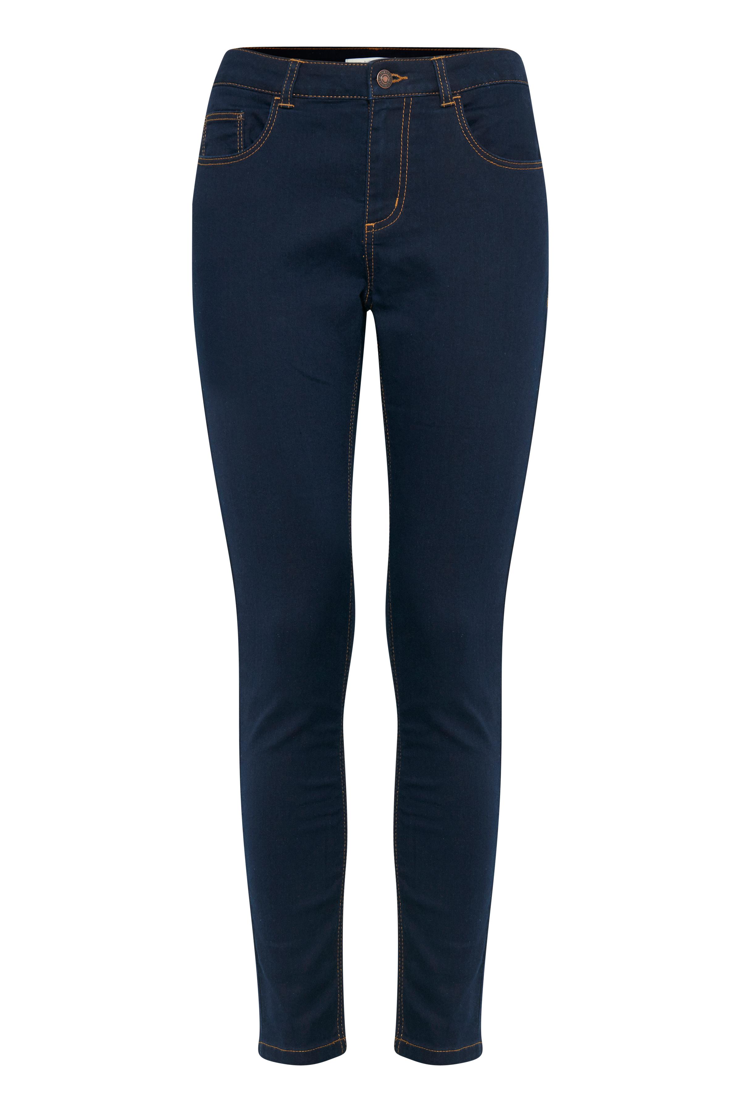 Dark blue denim Jeans fra b.young – Køb Dark blue denim Jeans fra str. 25-36 her