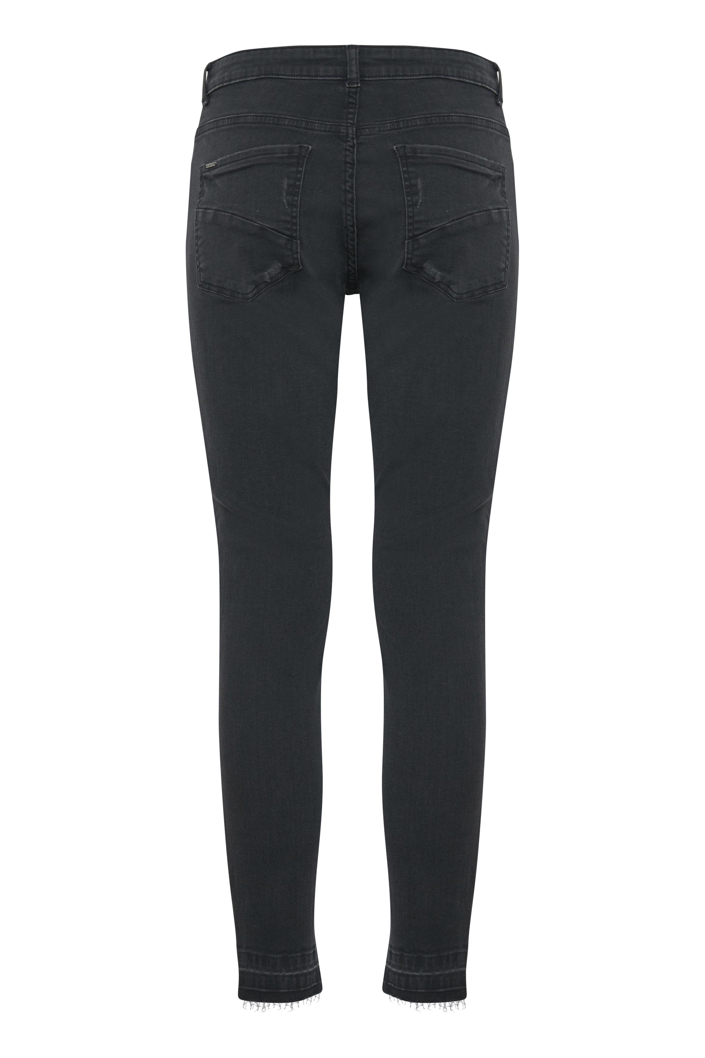 Dark Grey Denim Jeans fra b.young – Køb Dark Grey Denim Jeans fra str. 25-36 her