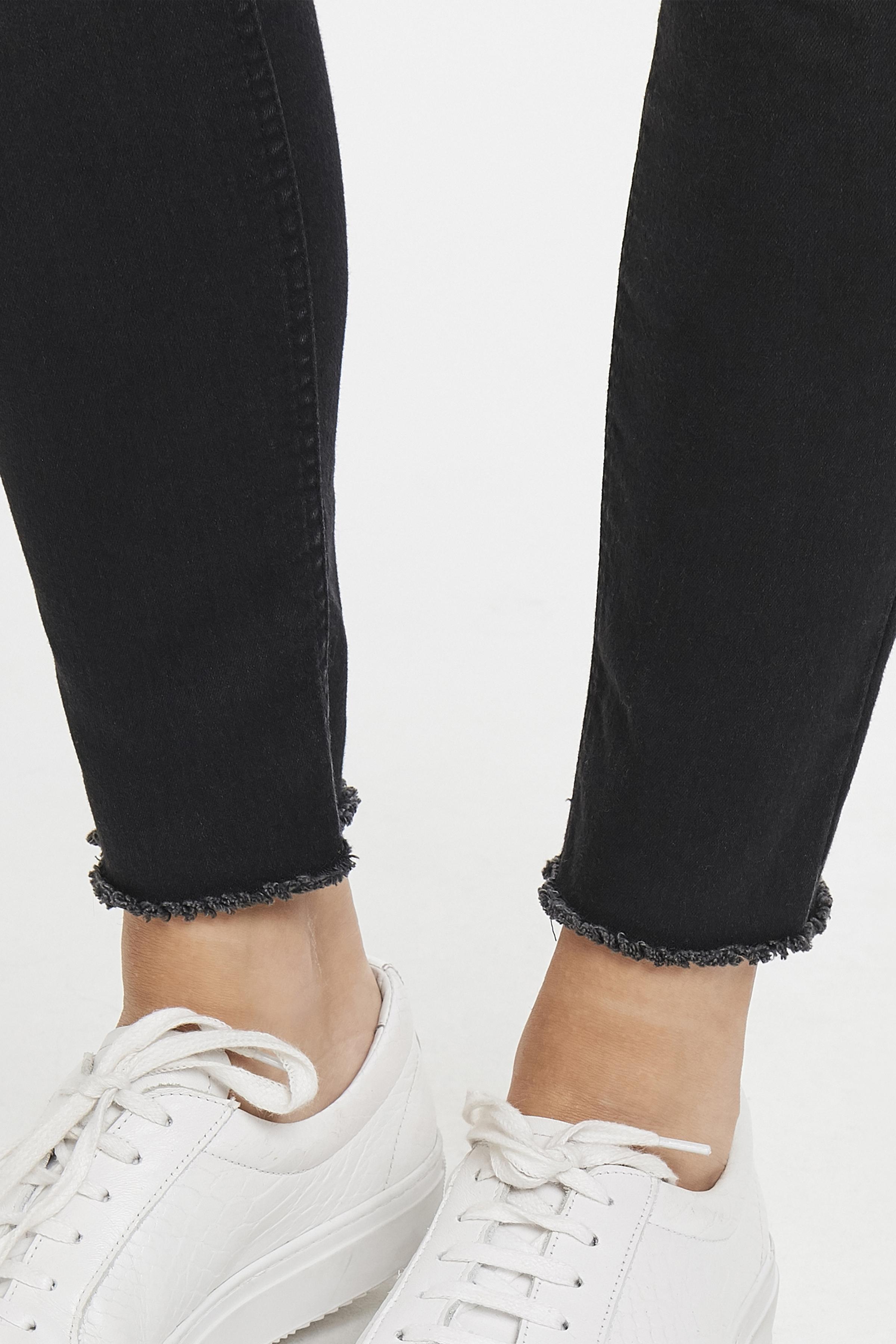 Dark Grey Denim Jeans fra b.young – Køb Dark Grey Denim Jeans fra str. 25-35 her