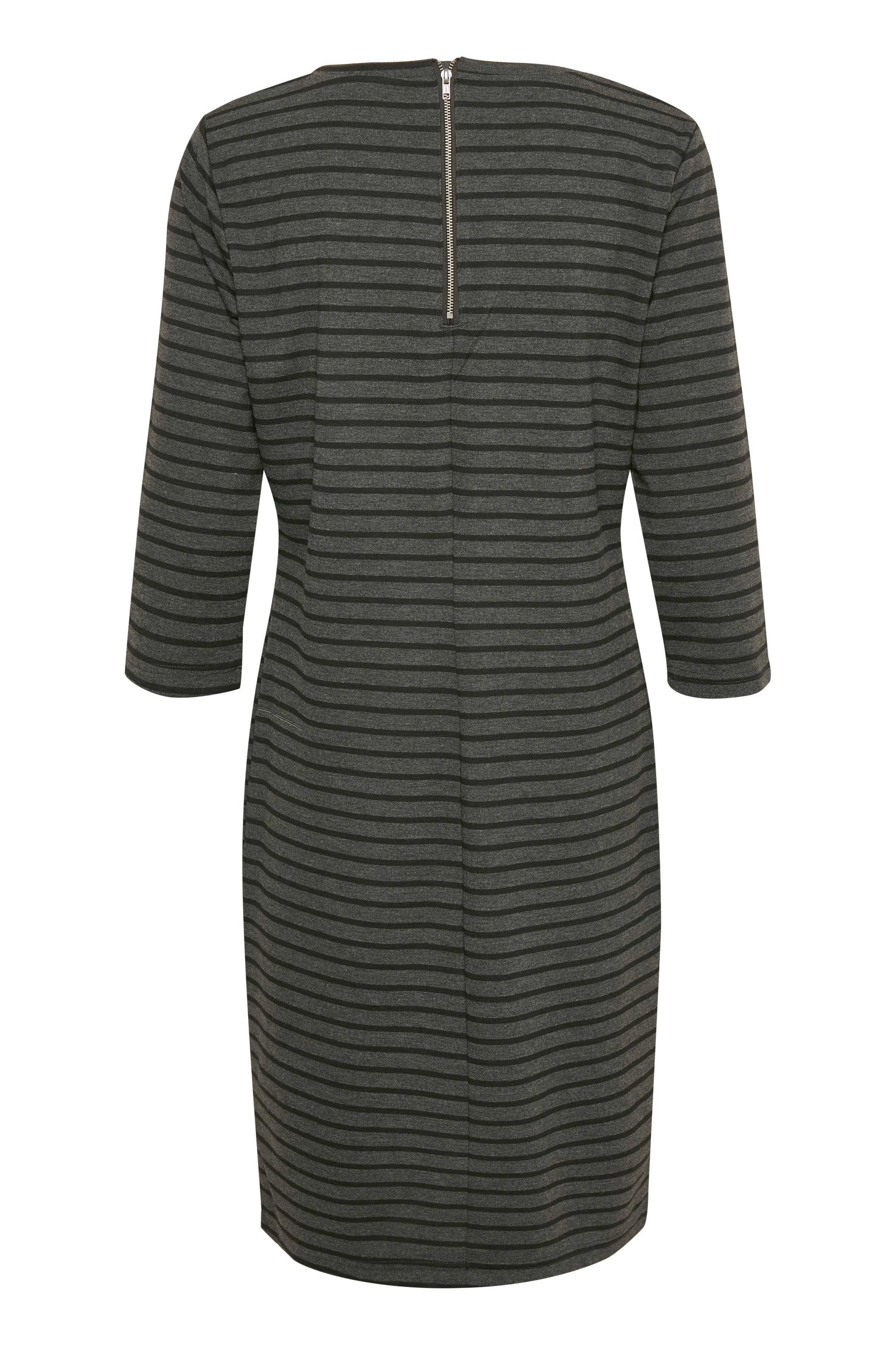 Dark grey mel. combi Jerseykjole fra b.young – Køb Dark grey mel. combi Jerseykjole fra str. XS-XXL her