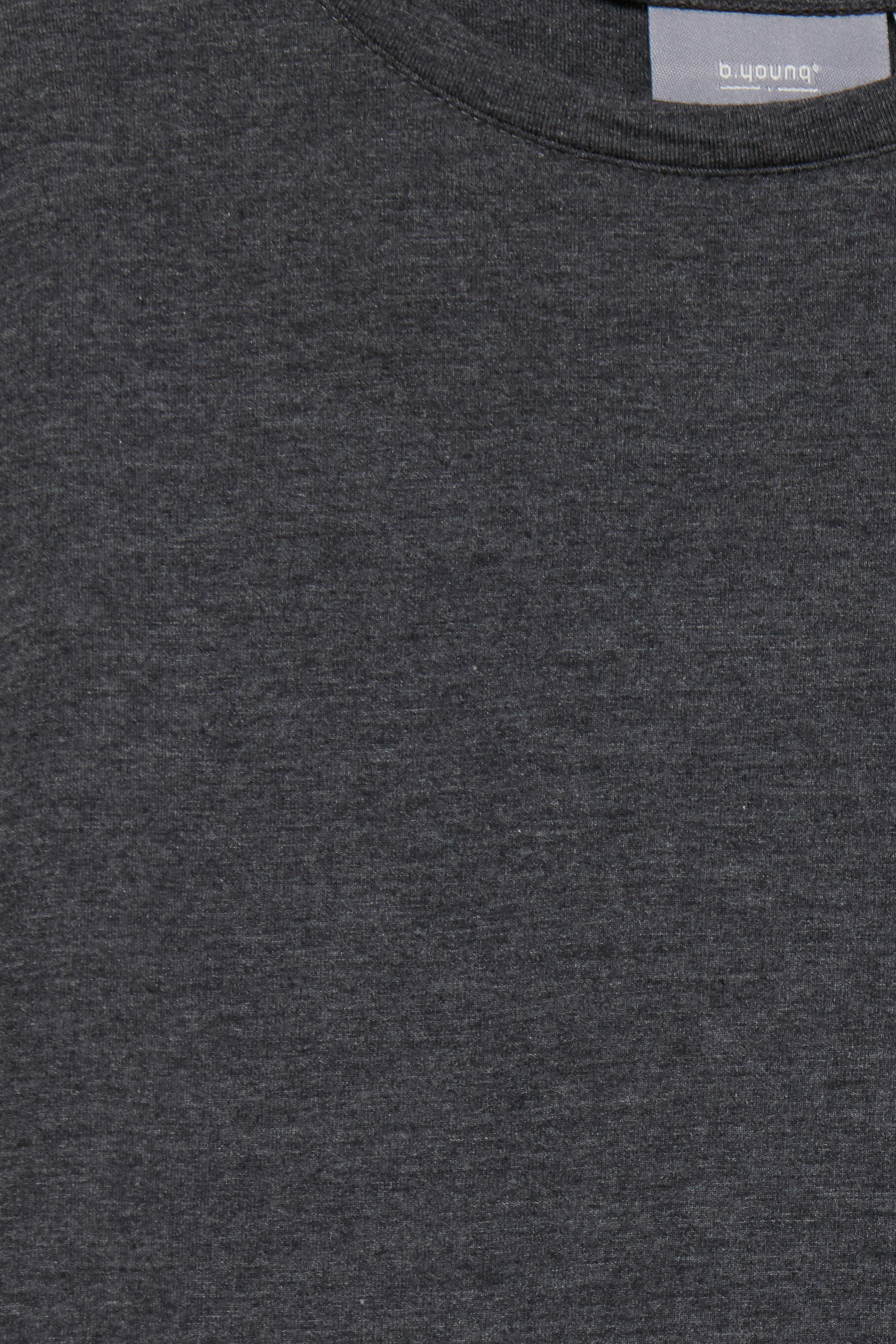 Dark Grey Mel Jerseytop fra b.young – Køb Dark Grey Mel Jerseytop fra str. XS-XXL her