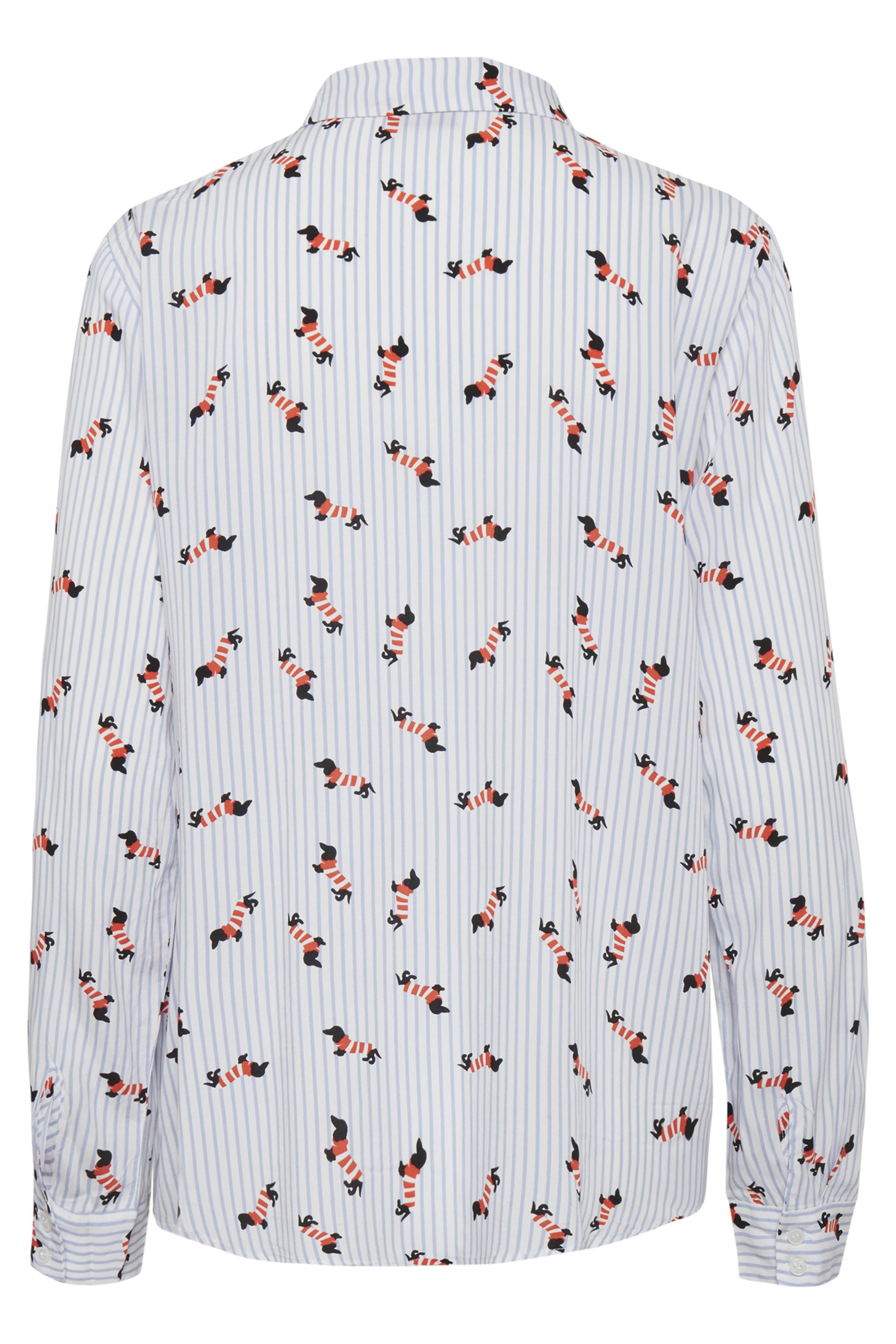 Dog Sky Blue Combi 3 Langærmet skjorte fra b.young – Køb Dog Sky Blue Combi 3 Langærmet skjorte fra str. 34-46 her