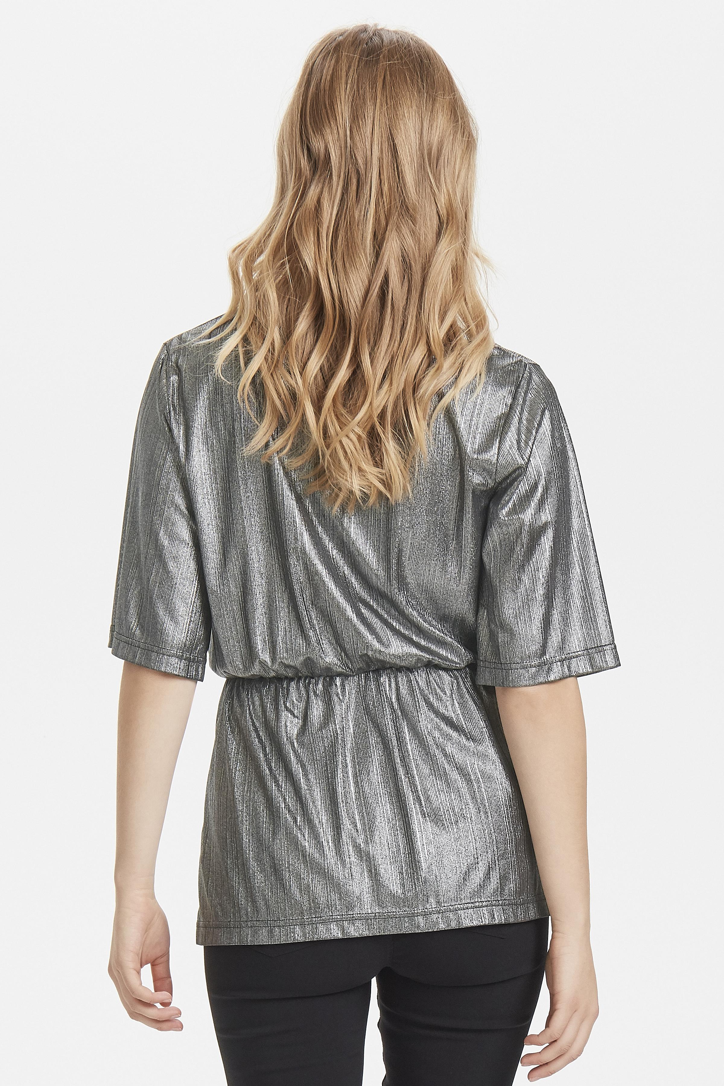 Dull Silver Langarm-Shirt von b.young – Kaufen Sie Dull Silver Langarm-Shirt aus Größe XS-XL hier