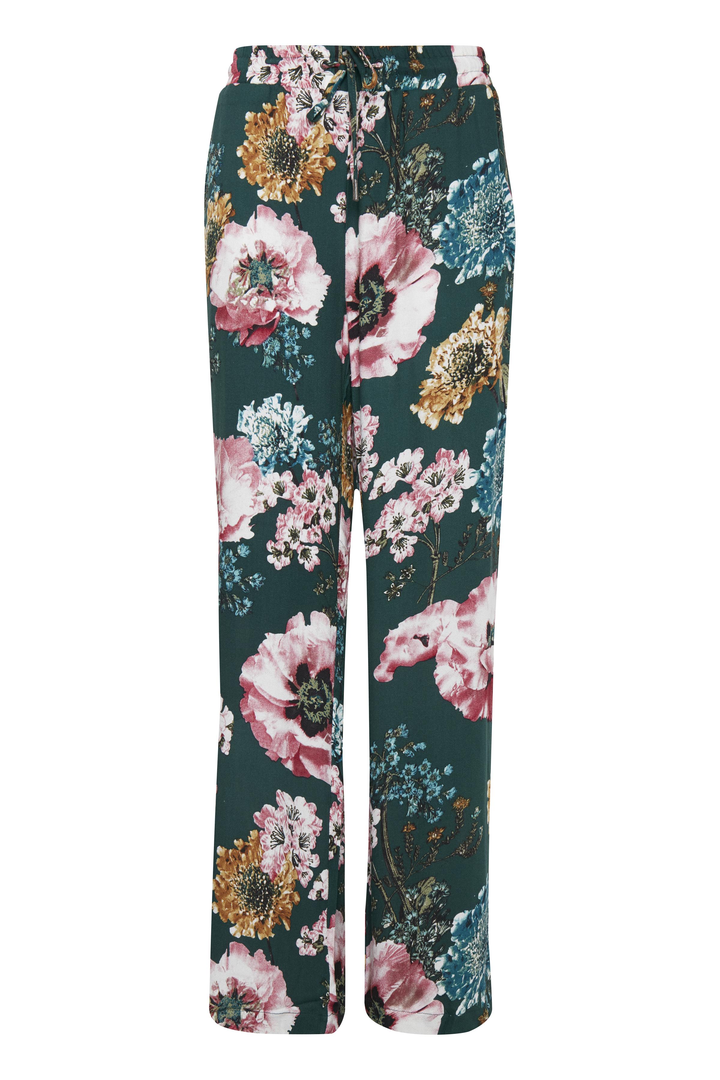 Flaschengrün/rosa Pants Casual von b.young – Kaufen Sie Flaschengrün/rosa Pants Casual aus Größe 36-44 hier