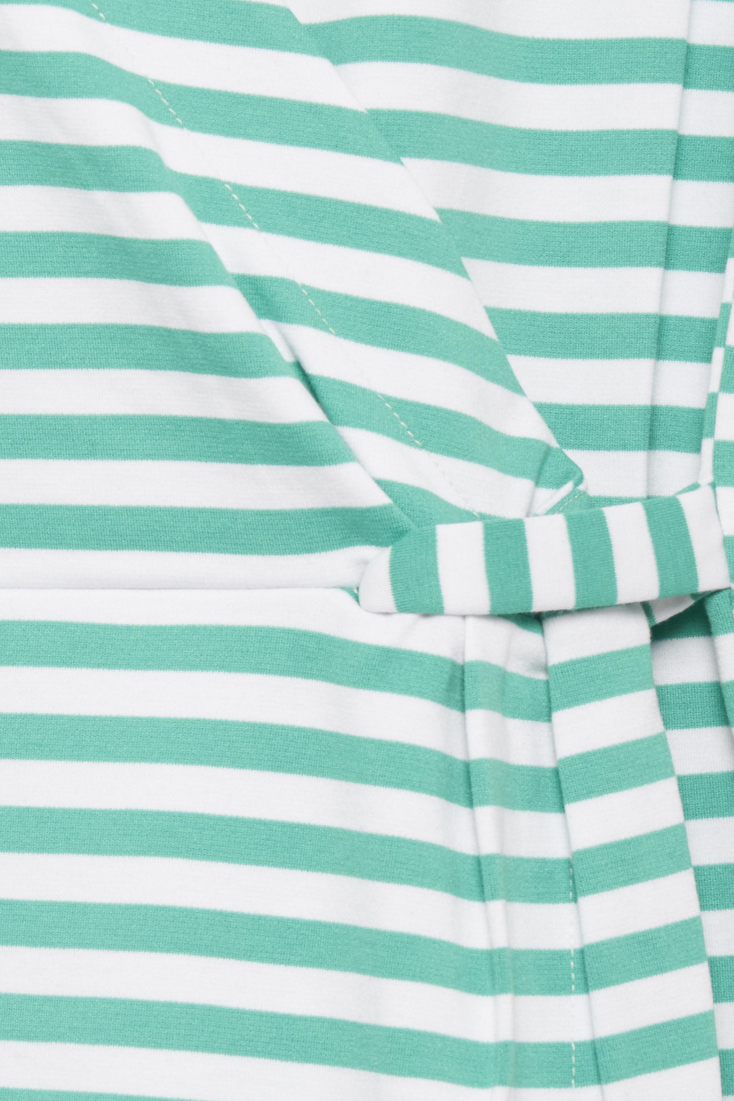 Fresh Green Big Stripe Klänning från b.young – Köp Fresh Green Big Stripe Klänning från storlek S-XXL här