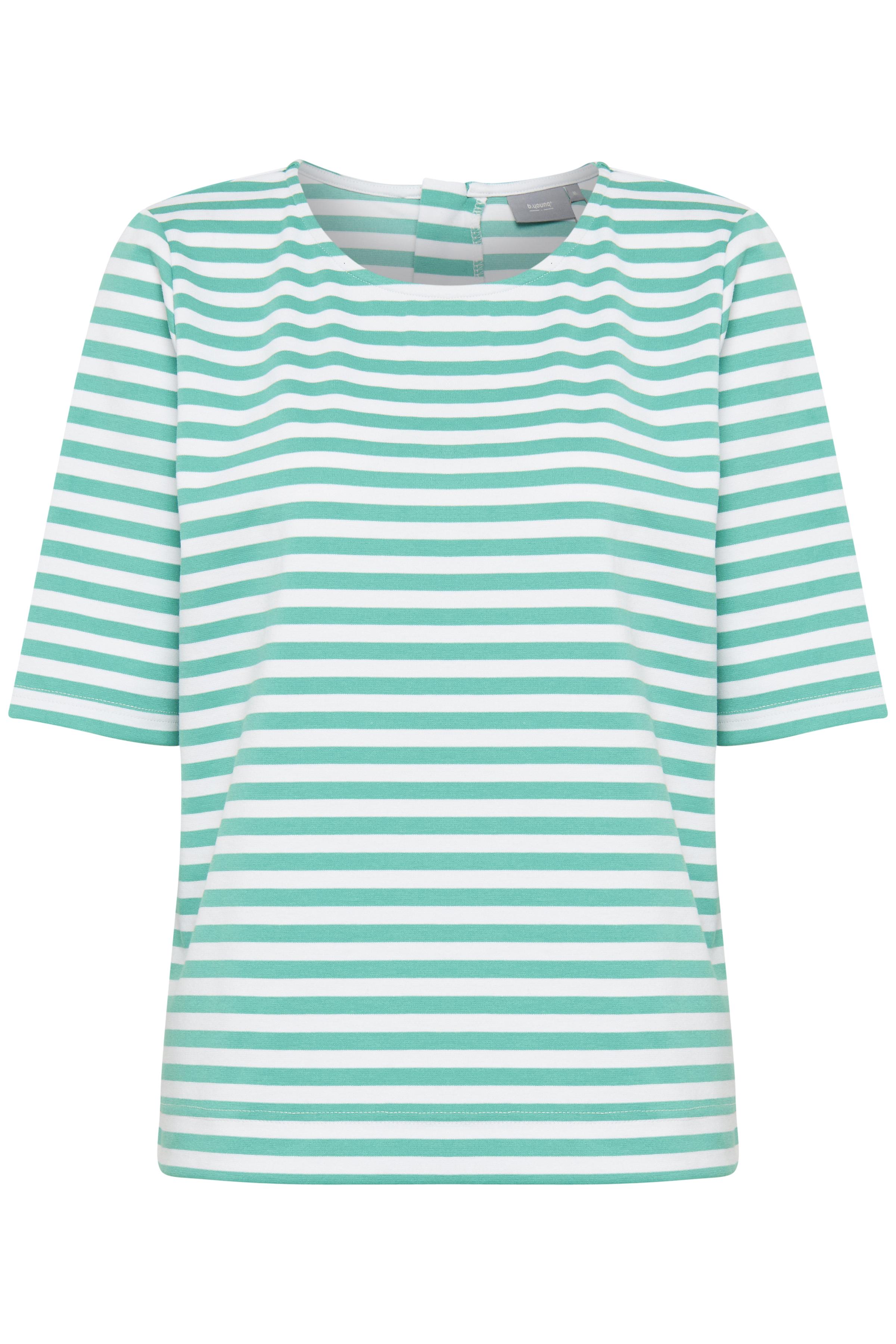 Fresh Green Big Stripe