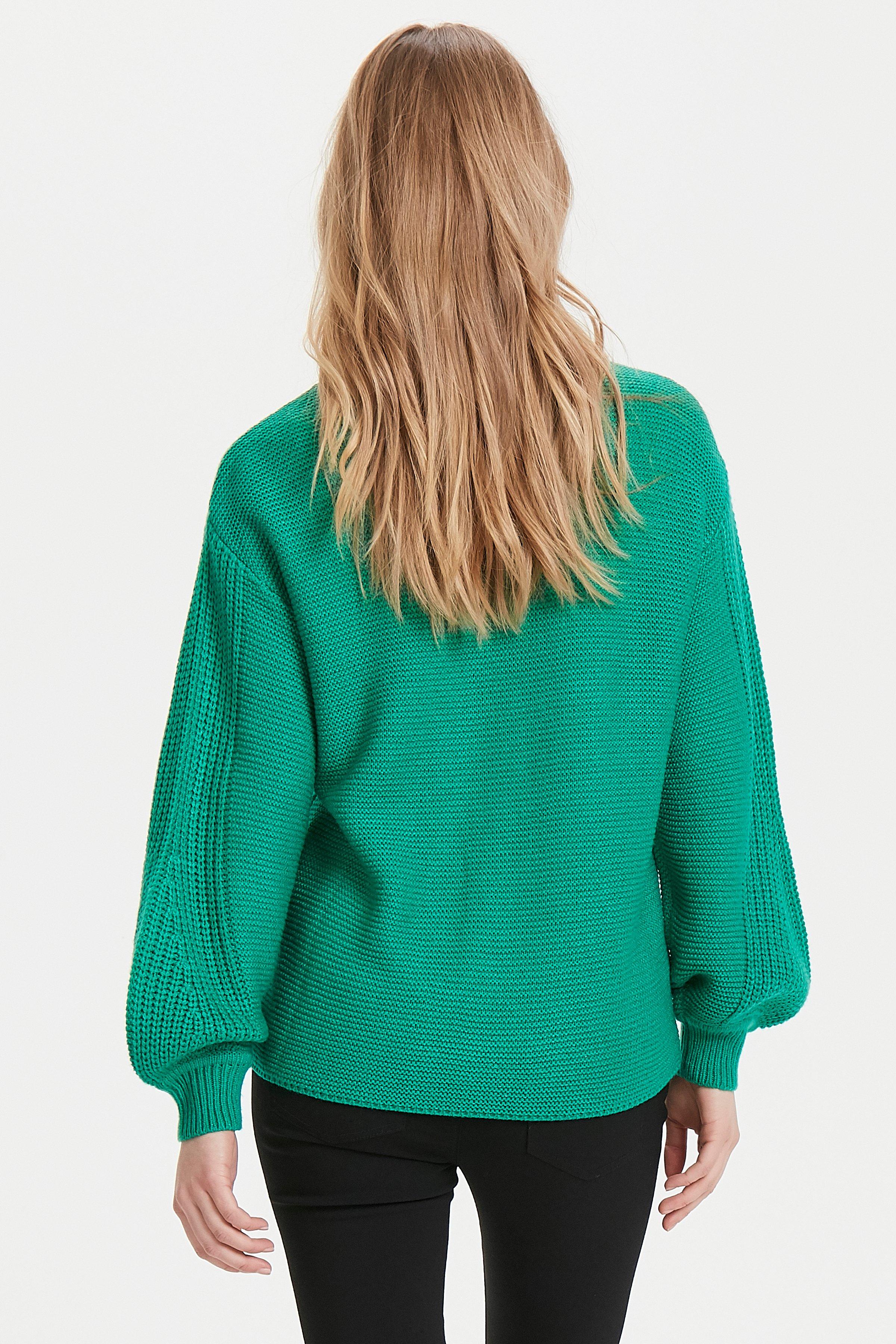 Fresh Green Strikpullover fra b.young – Køb Fresh Green Strikpullover fra str. XS-XXL her