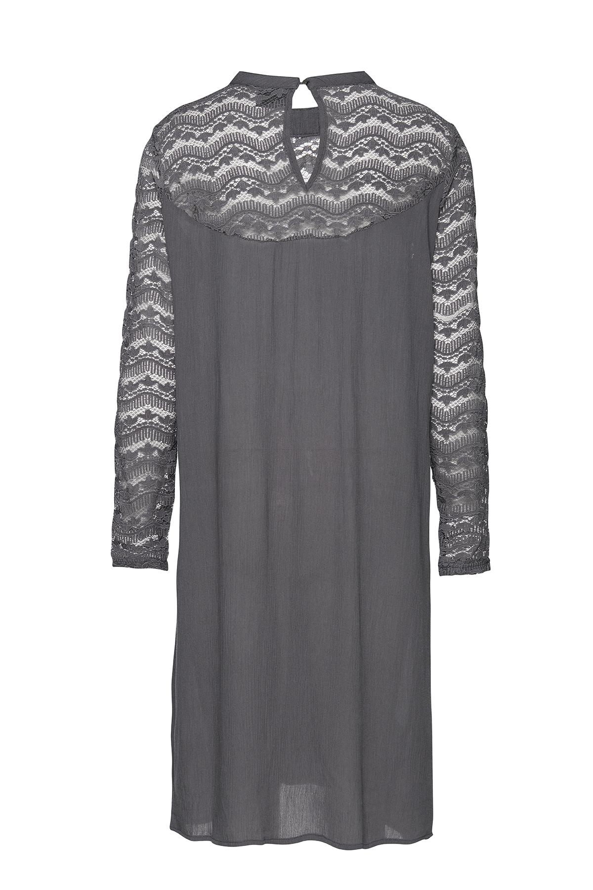Grau Kleid von b.young – Kaufen Sie Grau Kleid aus Größe 34-46 hier