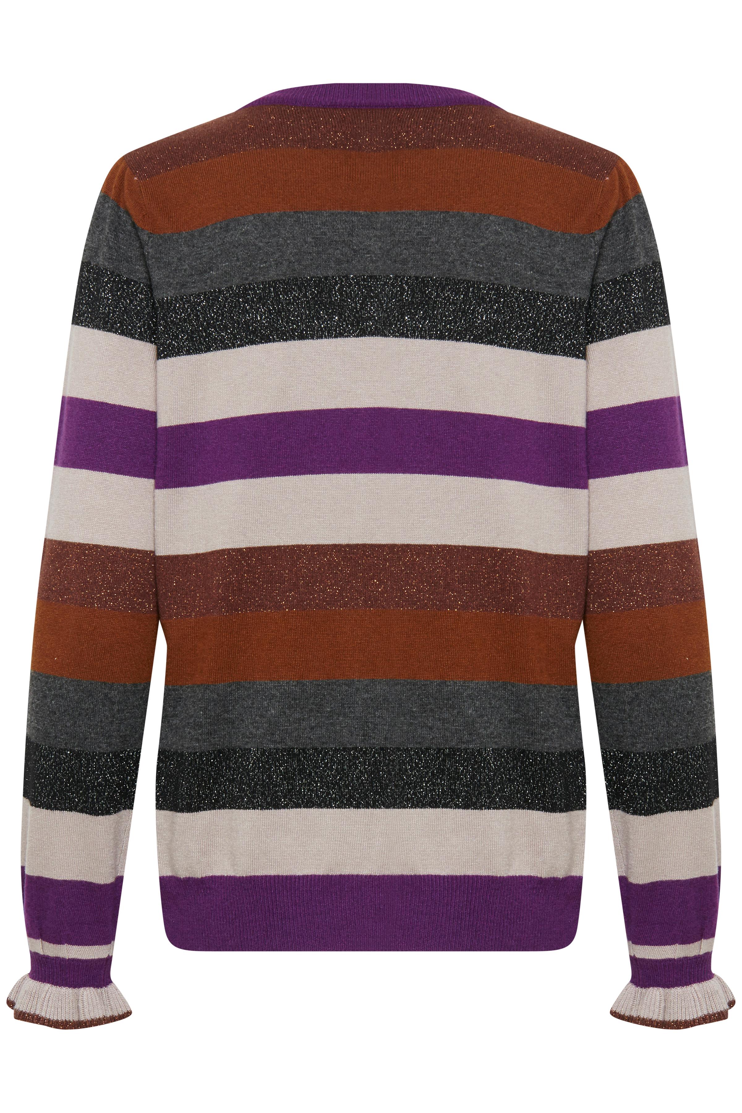 Imperial Purple Strickpullover von b.young – Kaufen Sie Imperial Purple Strickpullover aus Größe XS-XXL hier