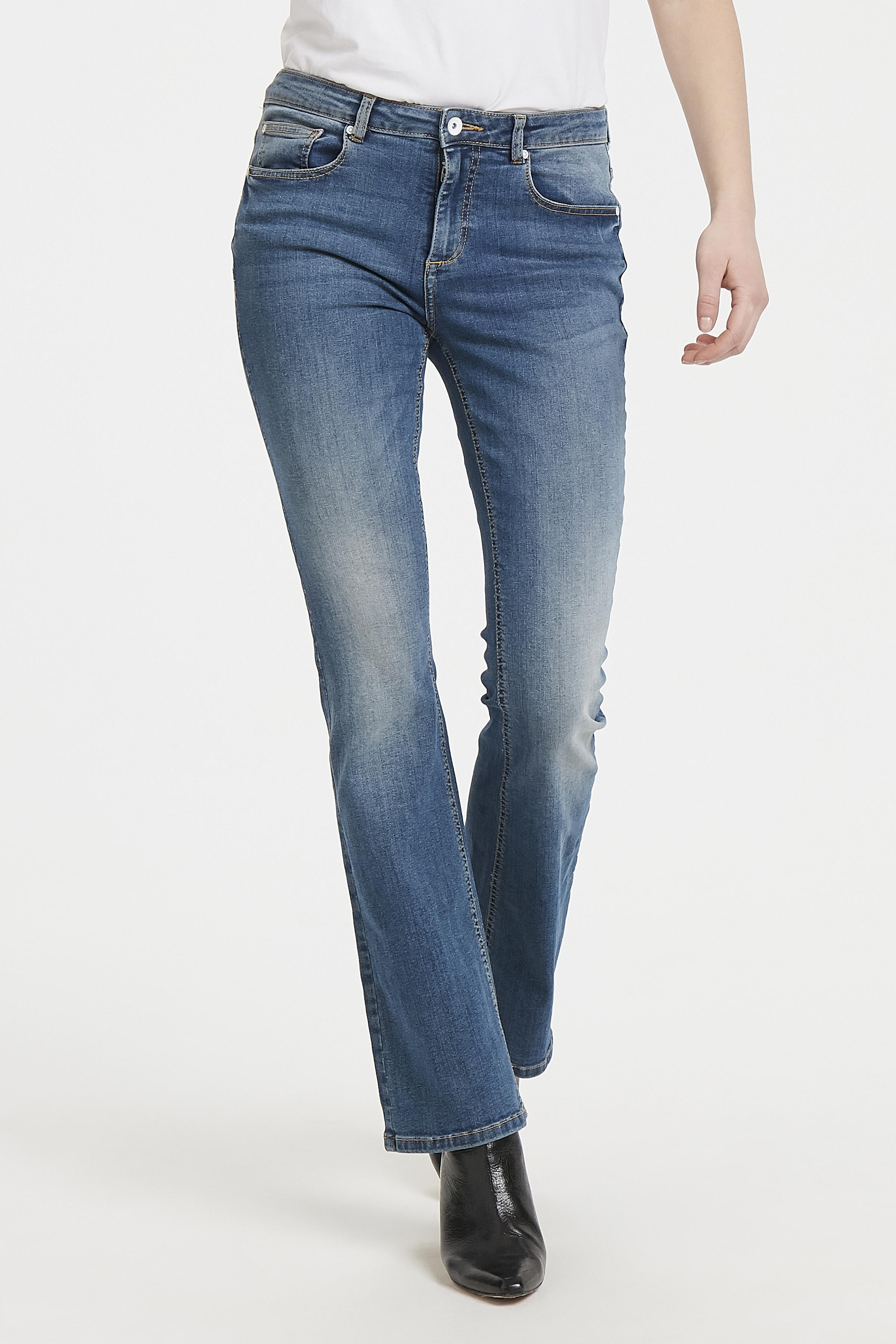 Indigo Blue Jeans fra b.young – Køb Indigo Blue Jeans fra str. 25-36 her