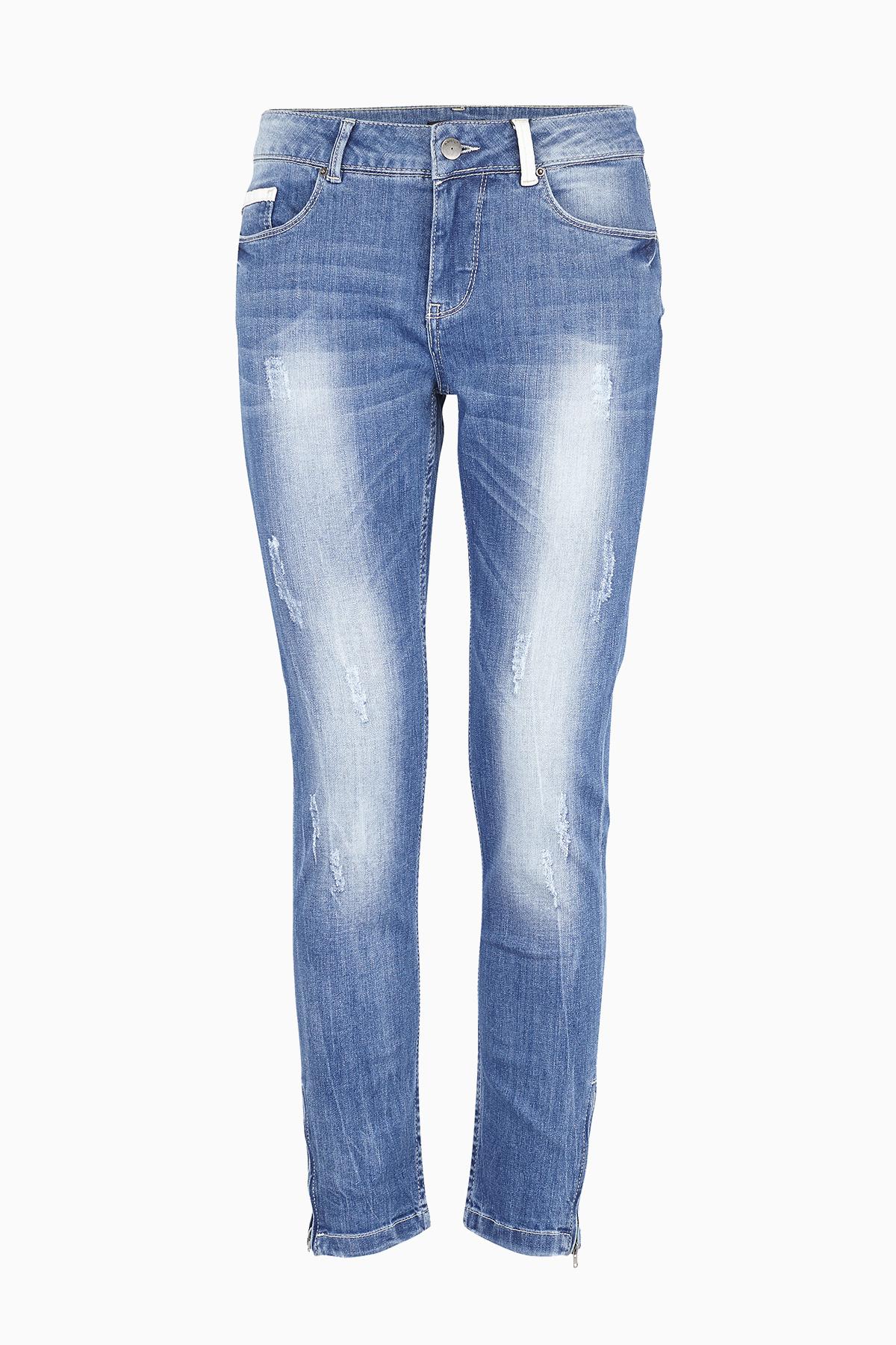 Indigoblå Jeans fra b.young – Køb Indigoblå Jeans fra str. 25-36 her