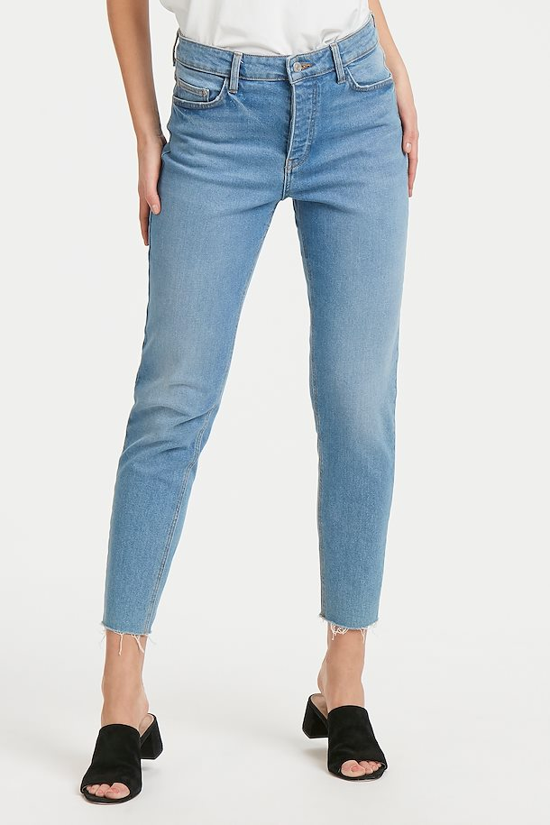 ee712a22ff Light blue denim Mom Jeans from b.young – Buy Light blue denim Mom Jeans  from size ...