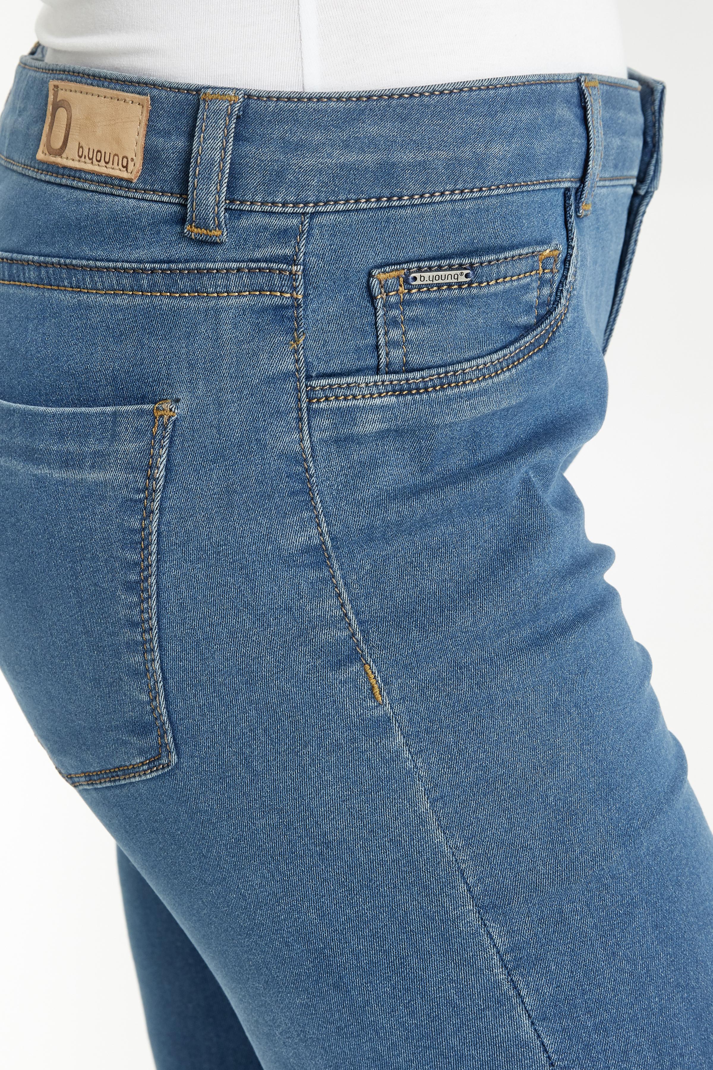Light blue Jeans fra b.young – Køb Light blue Jeans fra str. 27-34 her