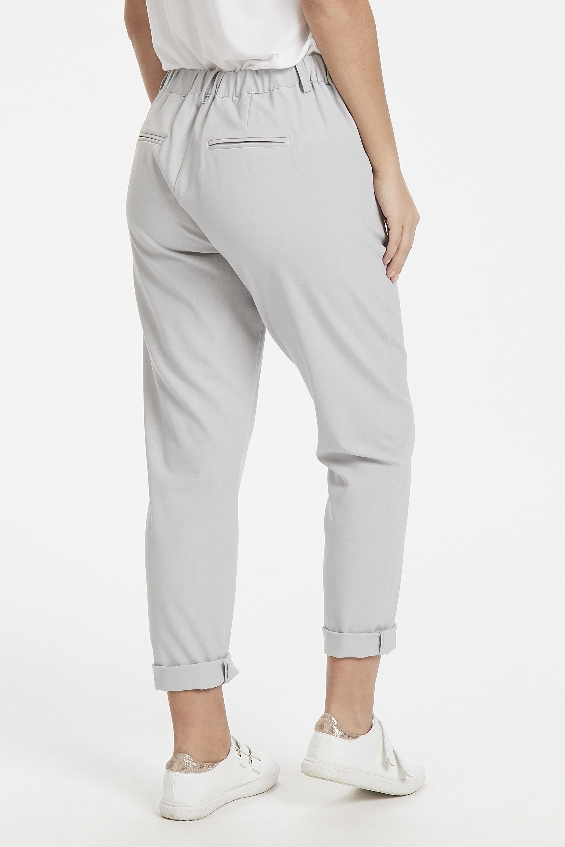 Light Grey Mel. Pants Suiting von b.young – Kaufen Sie Light Grey Mel. Pants Suiting aus Größe 34-46 hier