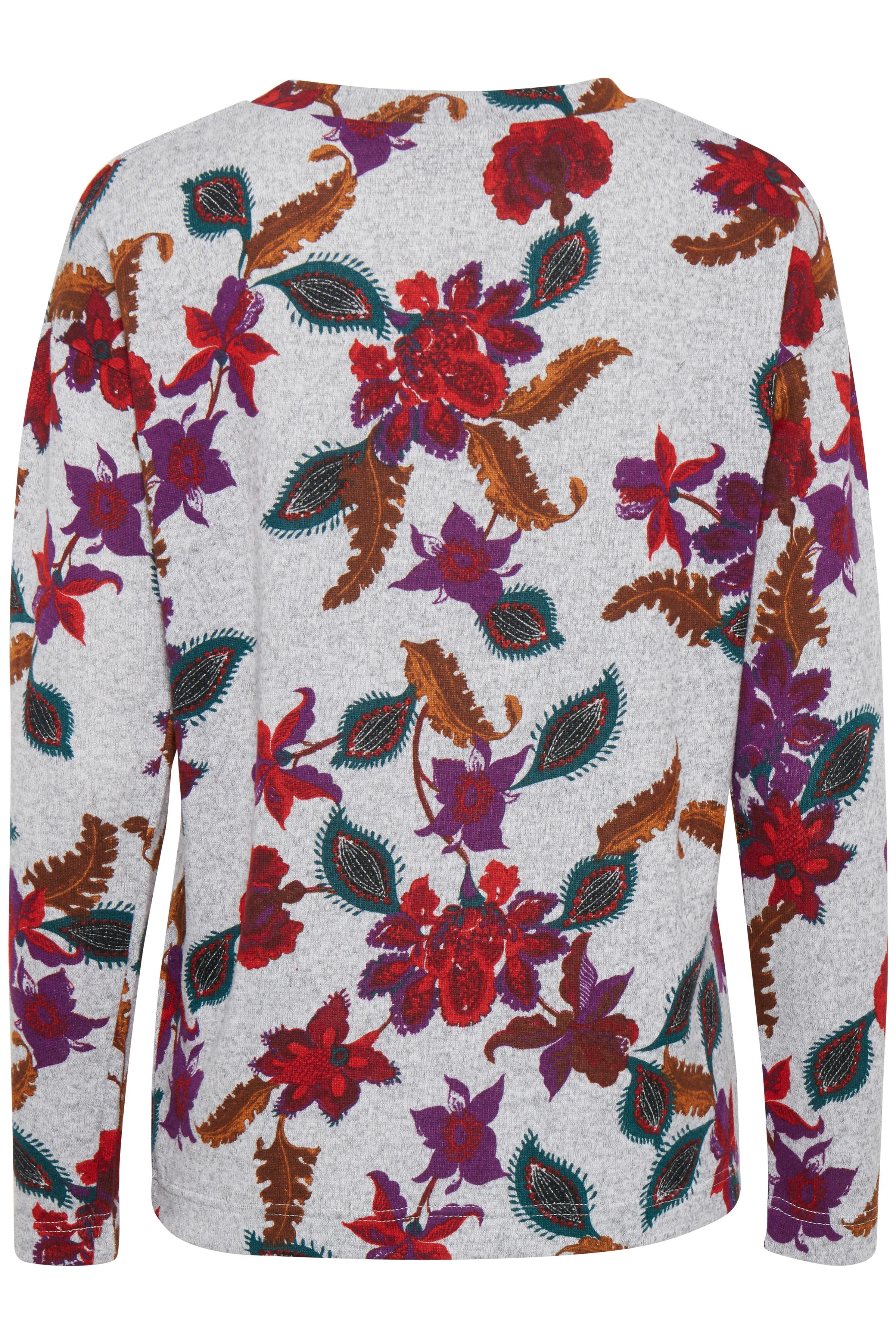 Ligth grey mel. combi 1 Langærmet T-shirt fra b.young – Køb Ligth grey mel. combi 1 Langærmet T-shirt fra str. XS-XXL her