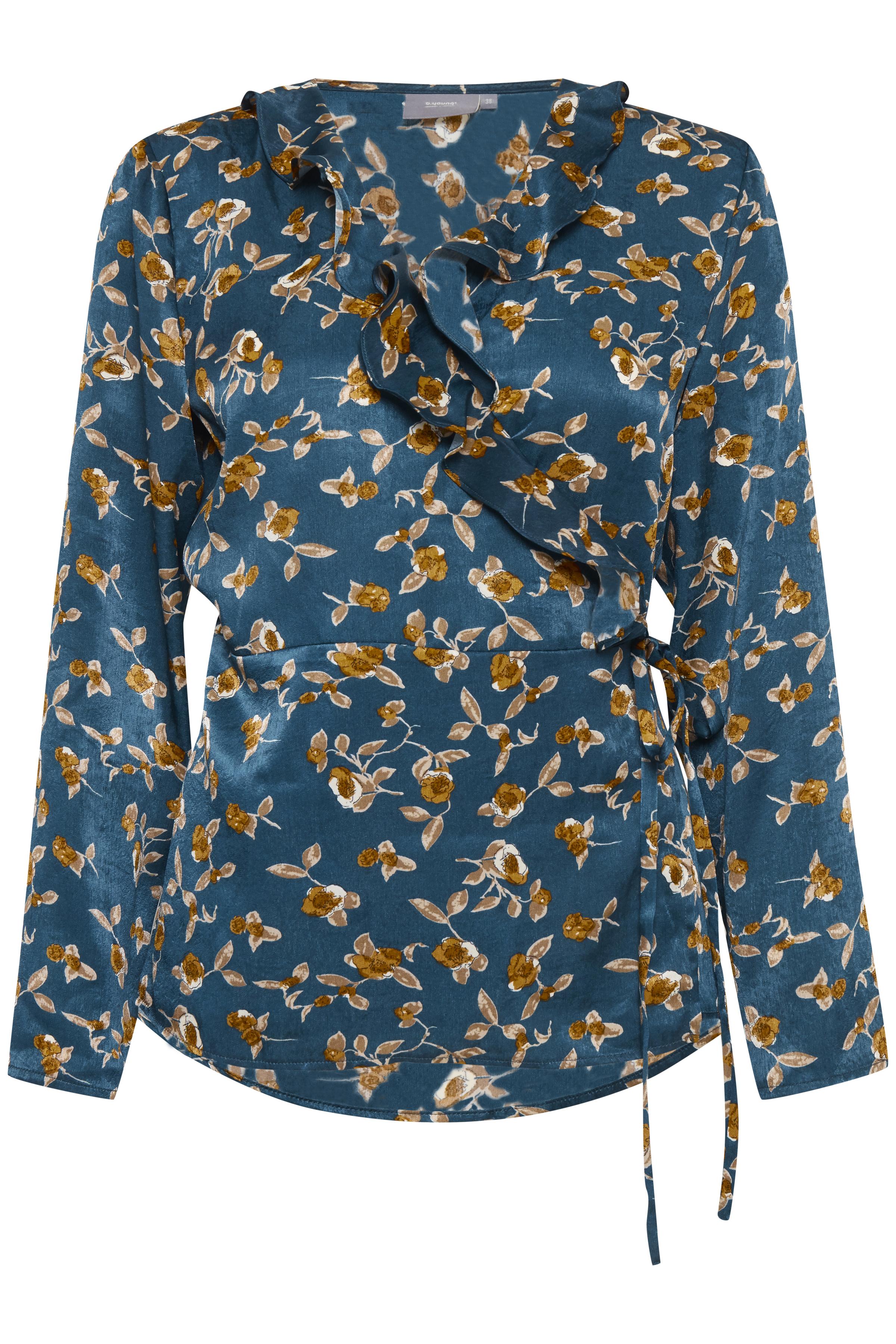 Majestic green combi 1 Langarm-Bluse von b.young – Kaufen Sie Majestic green combi 1 Langarm-Bluse aus Größe 34-42 hier