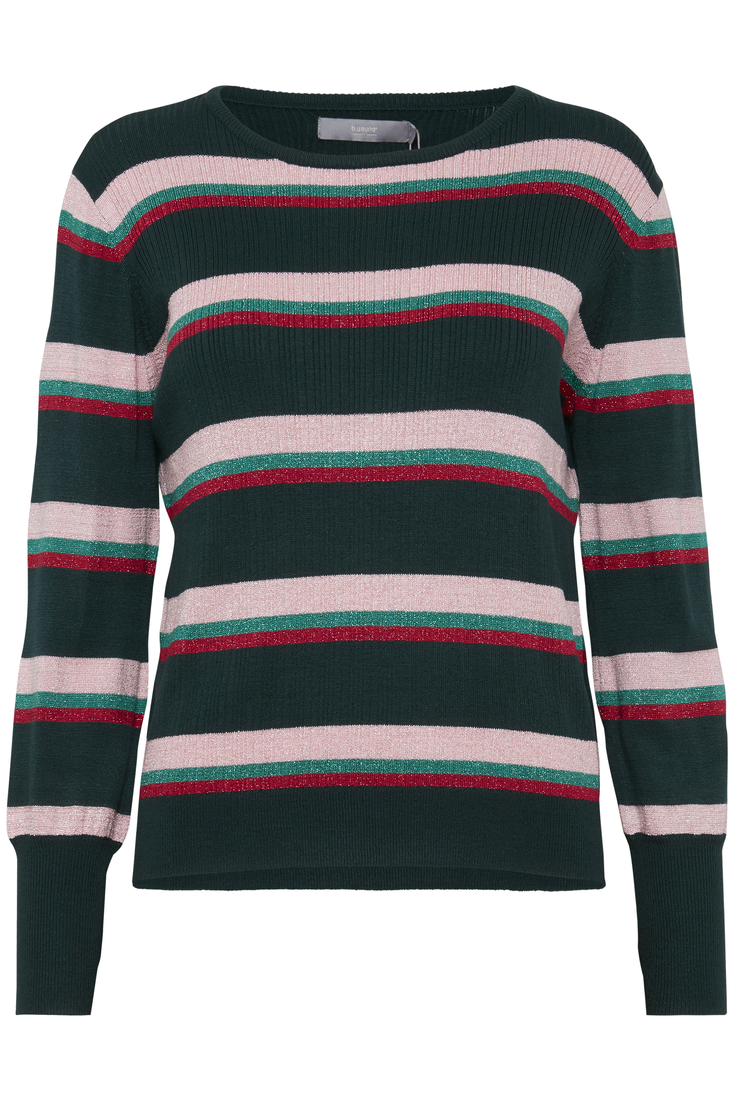 Majestic Green Combi Knitted pullover from b.young – Buy Majestic Green Combi Knitted pullover from size XS-XXL here