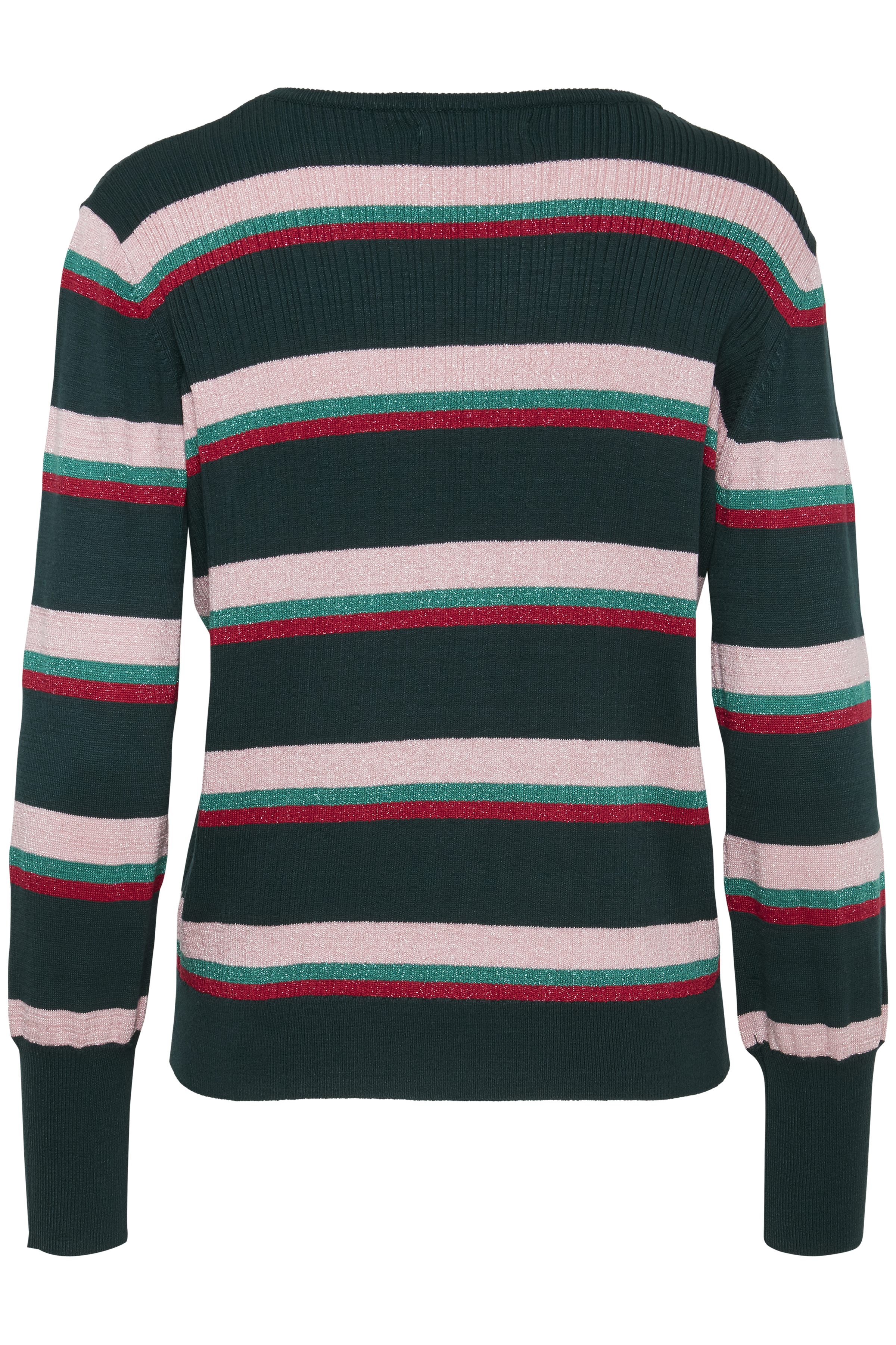 Majestic Green Combi Strikpullover fra b.young – Køb Majestic Green Combi Strikpullover fra str. XS-XXL her