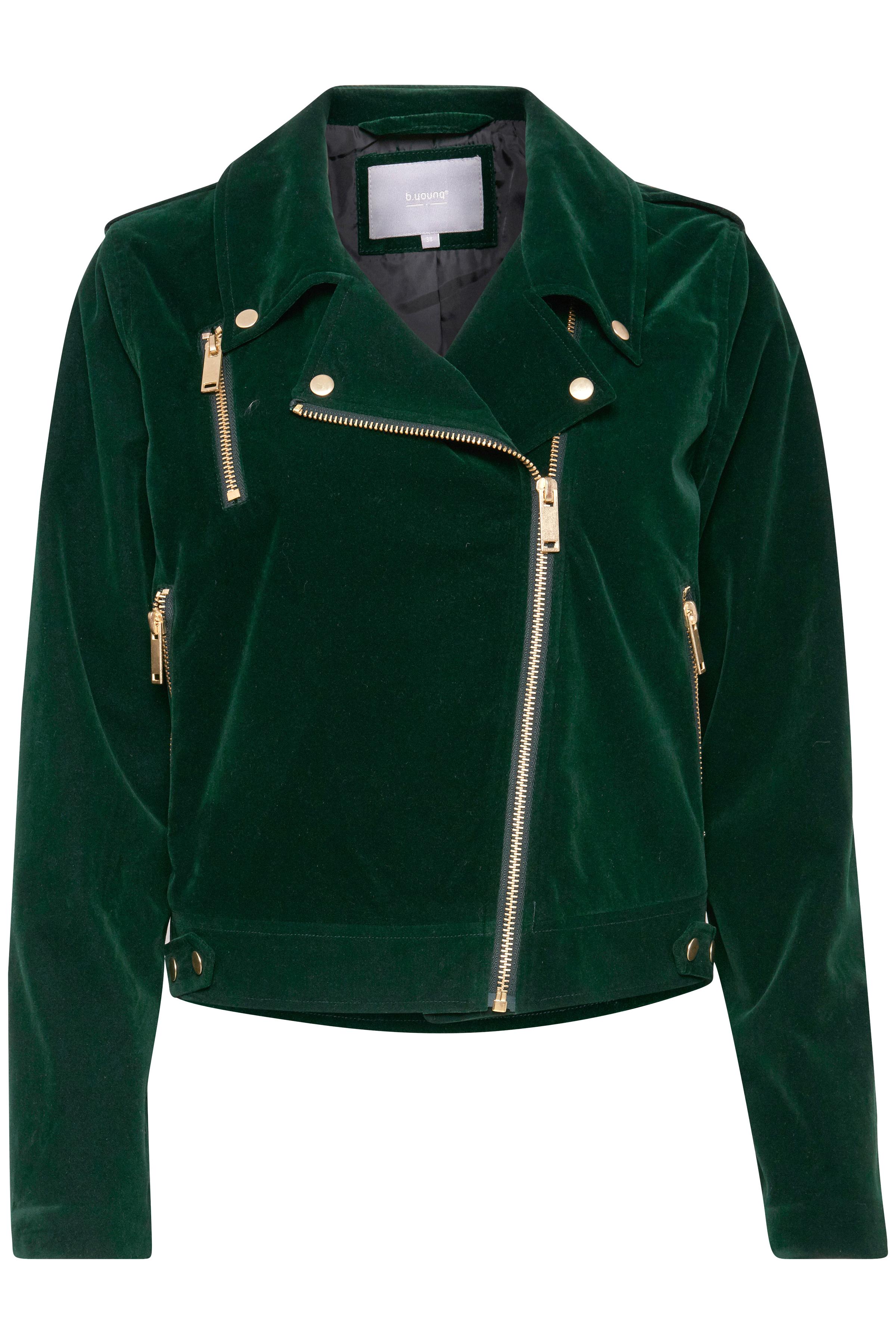 Majestic Green Jacke von b.young – Kaufen Sie Majestic Green Jacke aus Größe 36-46 hier