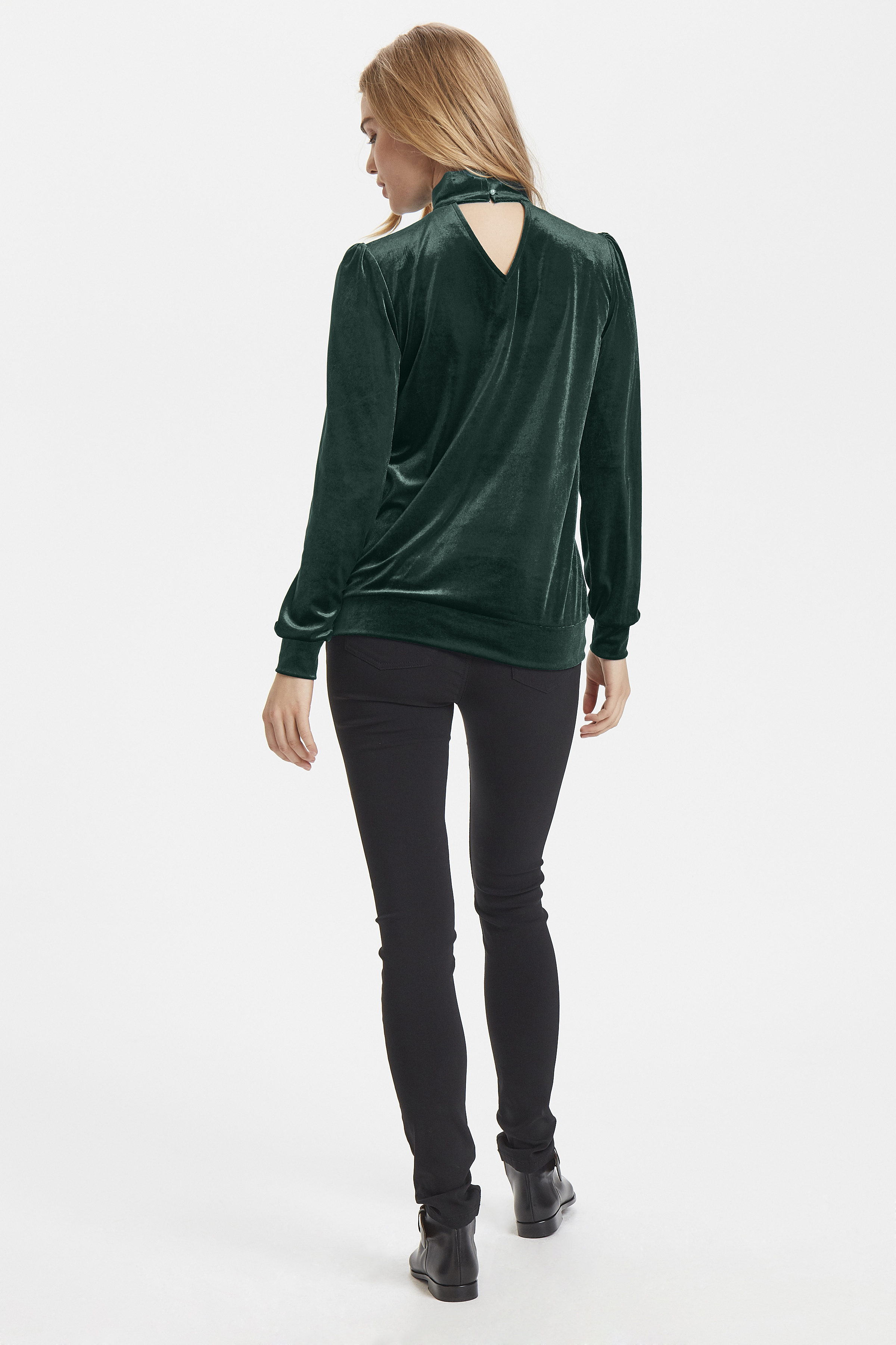Majestic Green Knitted pullover from b.young – Buy Majestic Green Knitted pullover from size XS-XL here