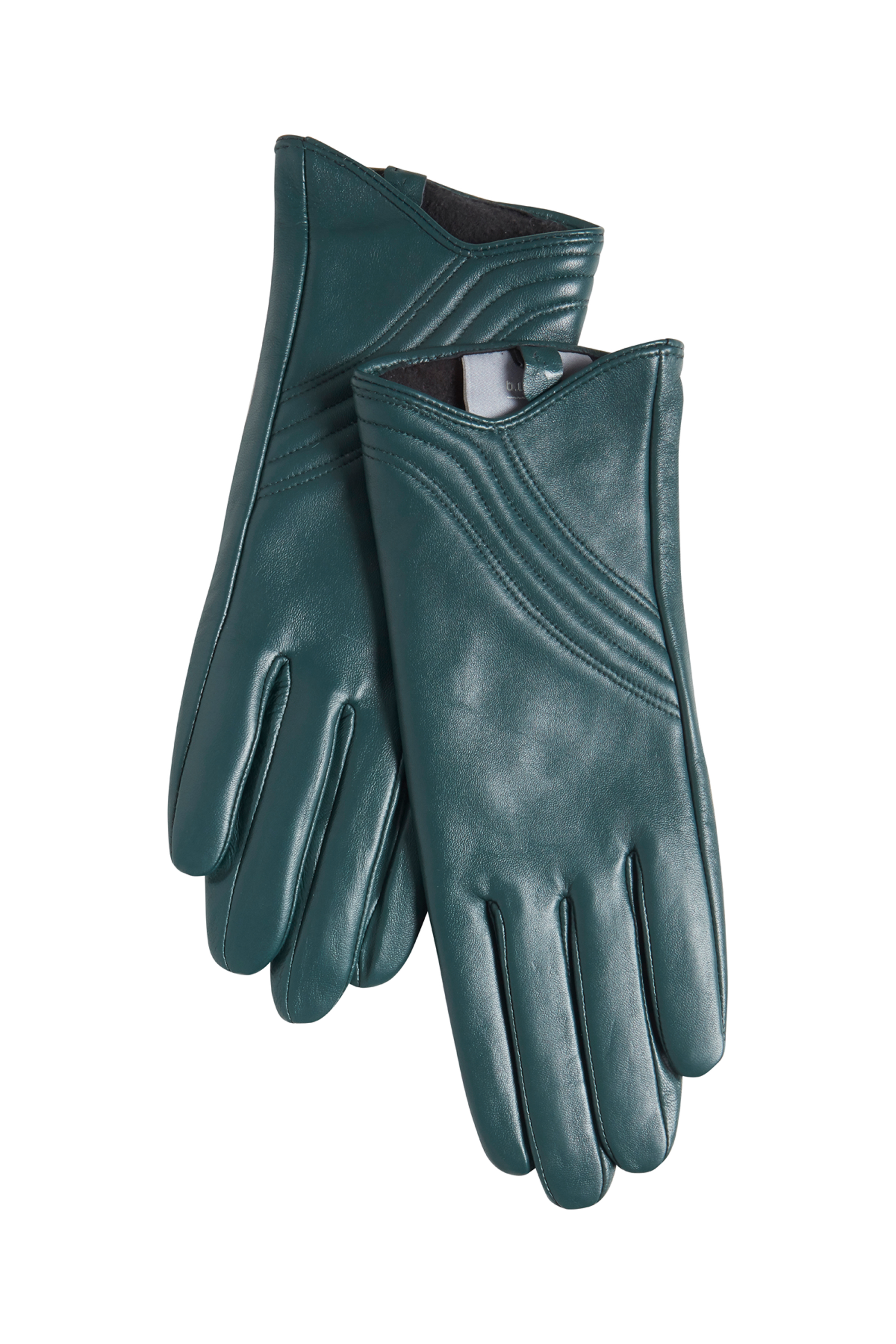 Majestic Green Leather gloves from b.young – Buy Majestic Green Leather gloves from size S/M-L/XL here
