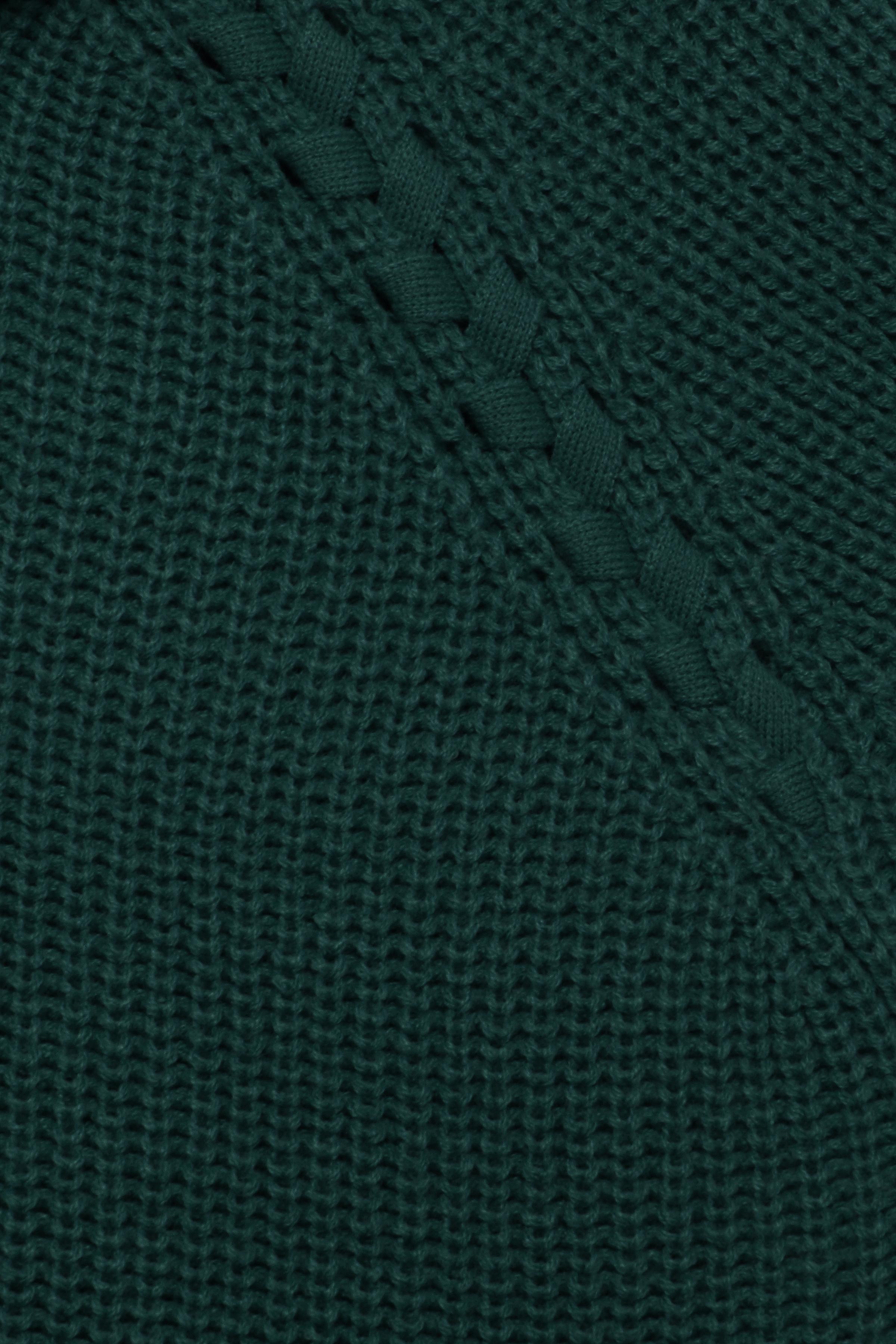 Majestic Green Strikpullover fra b.young – Køb Majestic Green Strikpullover fra str. XS-XXL her