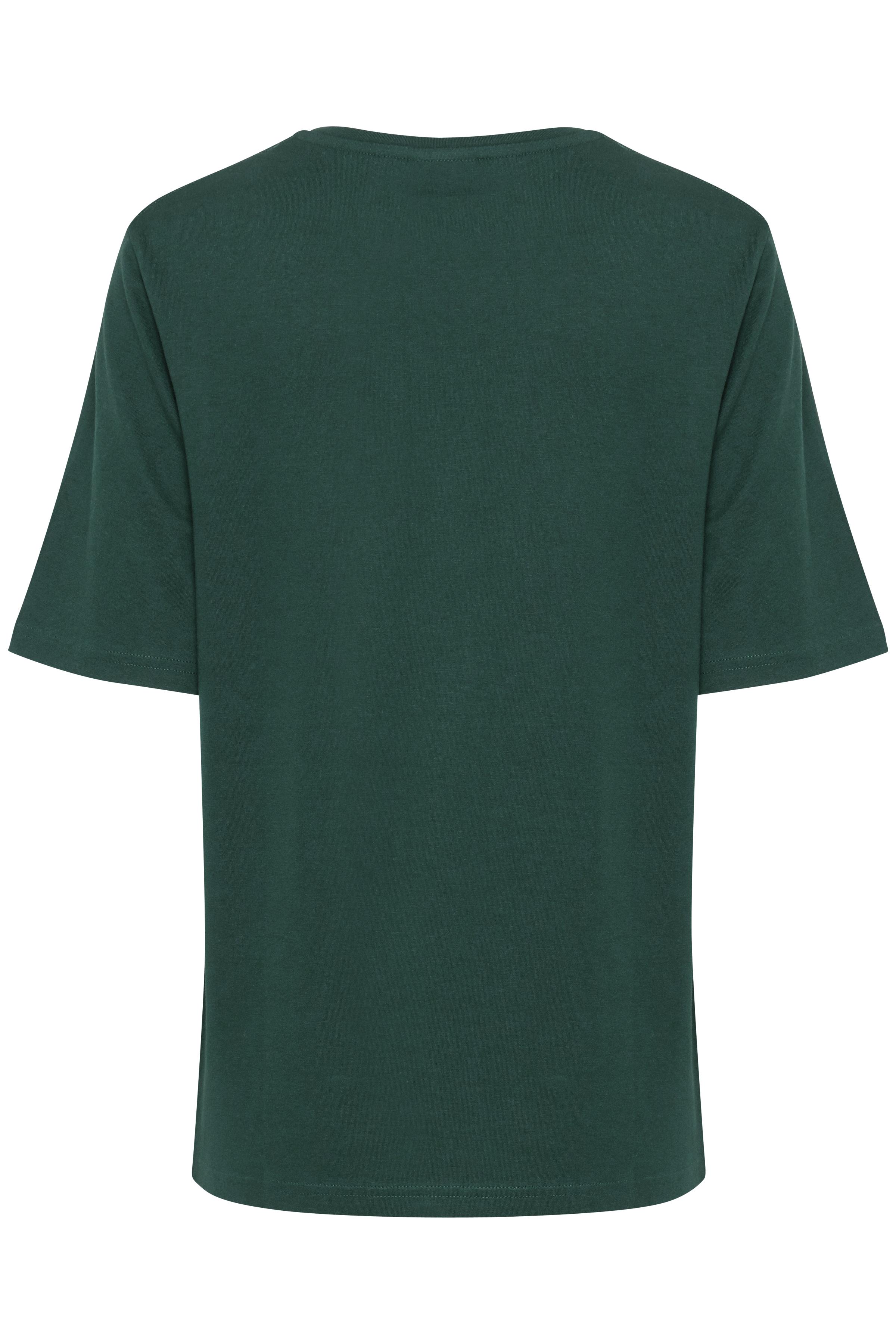 Majestic Green T-shirt fra b.young – Køb Majestic Green T-shirt fra str. XS-XXL her