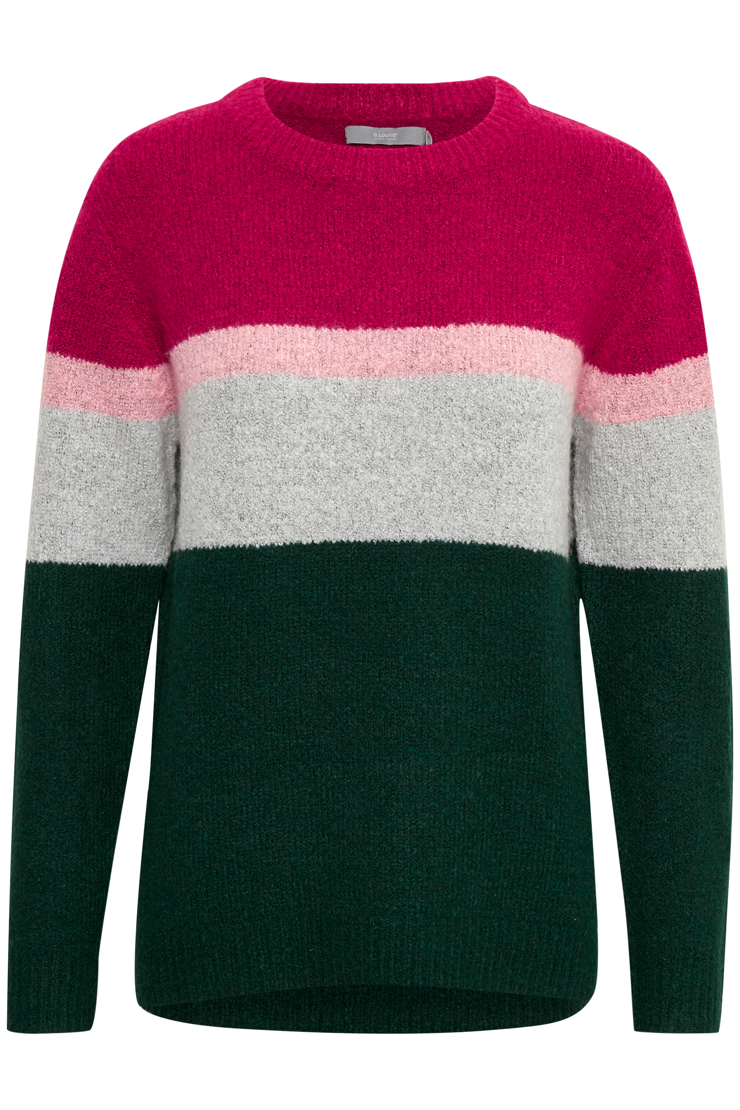 MajesticGreen mel.combi Knitted pullover from b.young – Buy MajesticGreen mel.combi Knitted pullover from size XS-XXL here