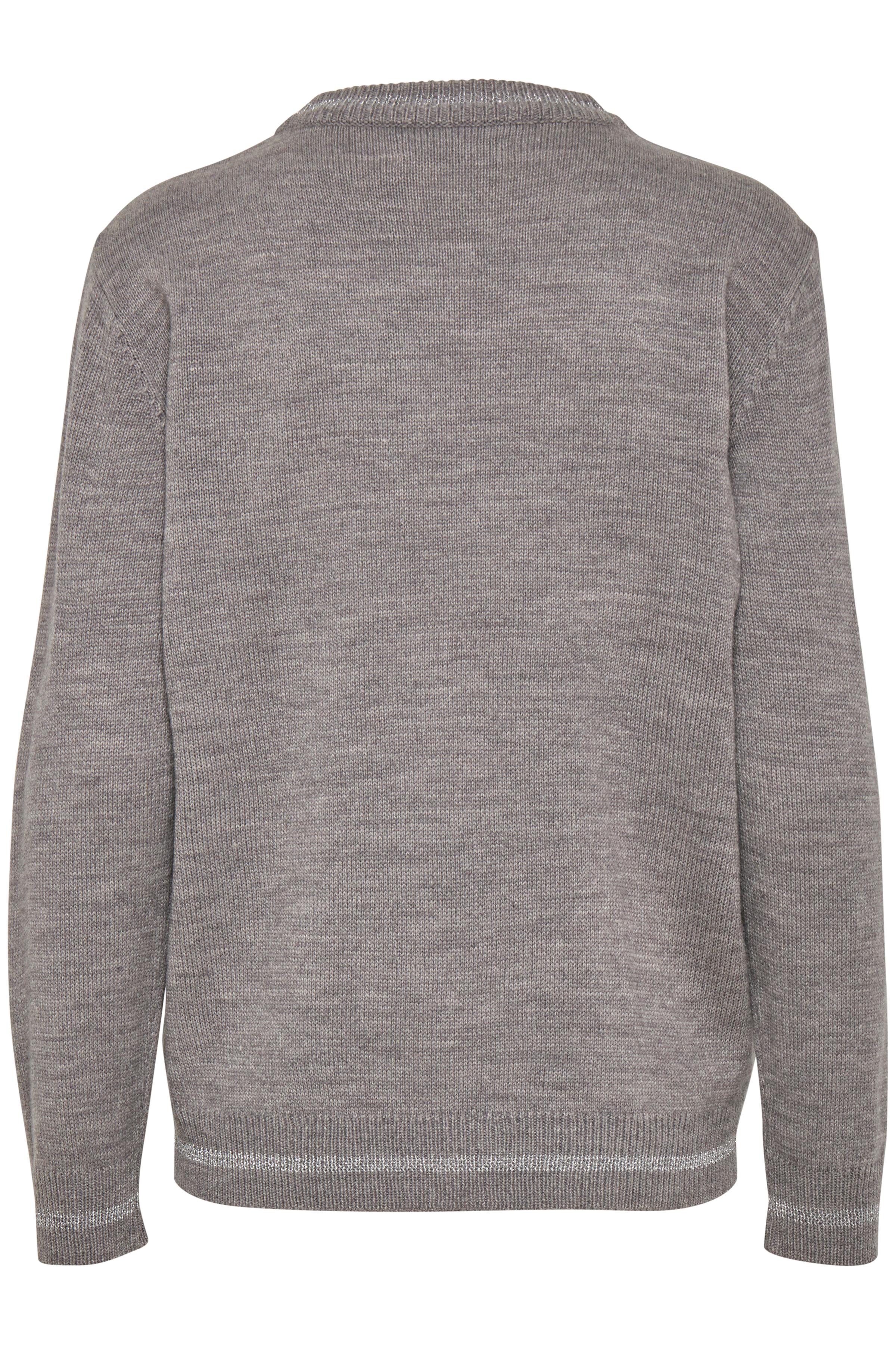 Med. Grey Mel. Combi 2 Pullover van b.young – Koop Med. Grey Mel. Combi 2 Pullover hier van size XS-XXL
