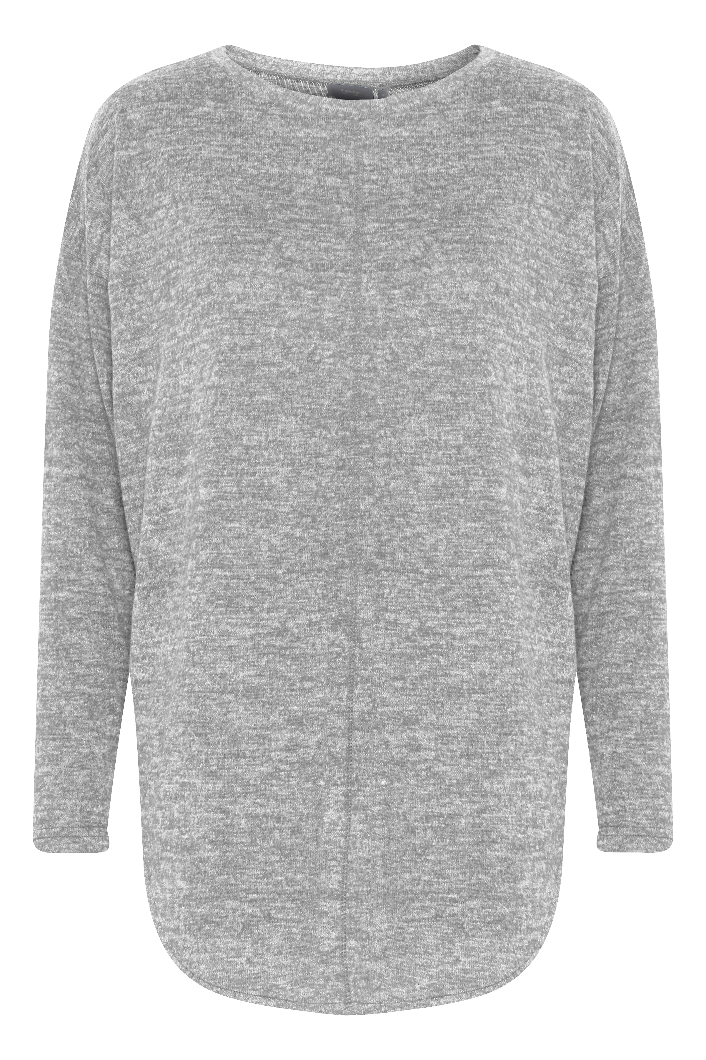 Med. Grey Mel. Jersey tunic from b.young – Buy Med. Grey Mel. Jersey tunic from size XS-L here