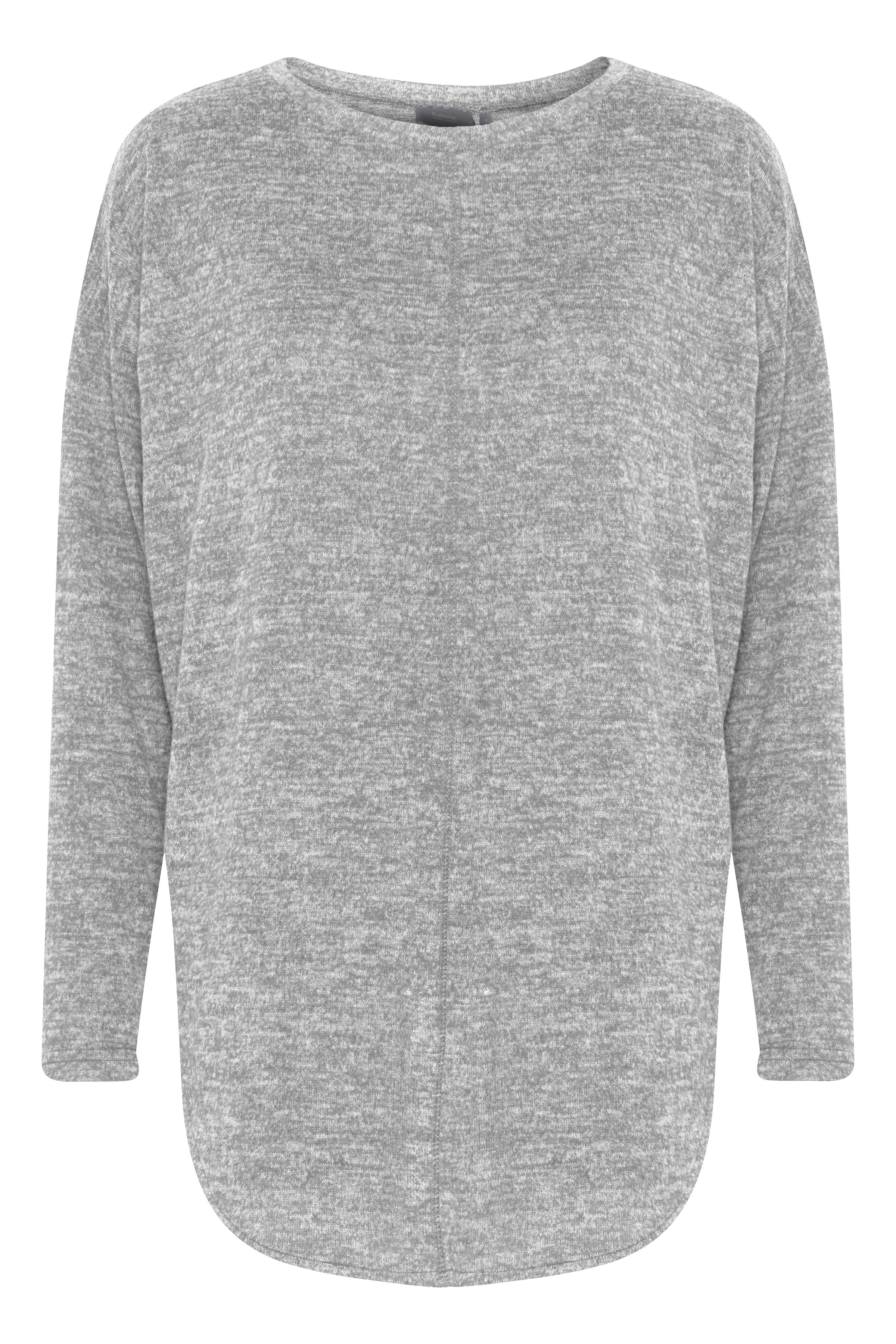 Med. Grey Mel. Jersey-Tunika von b.young – Kaufen Sie Med. Grey Mel. Jersey-Tunika aus Größe XS-L hier