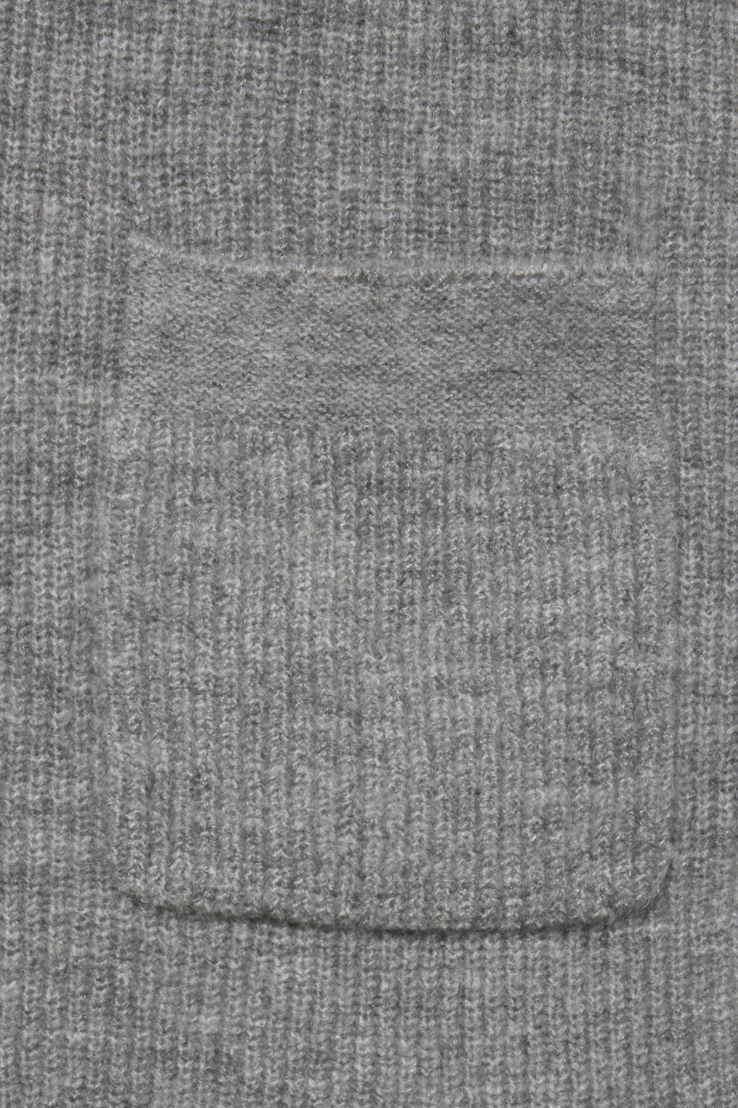 Med. Grey Mel. Knitted cardigan from b.young – Buy Med. Grey Mel. Knitted cardigan from size XS-XXL here