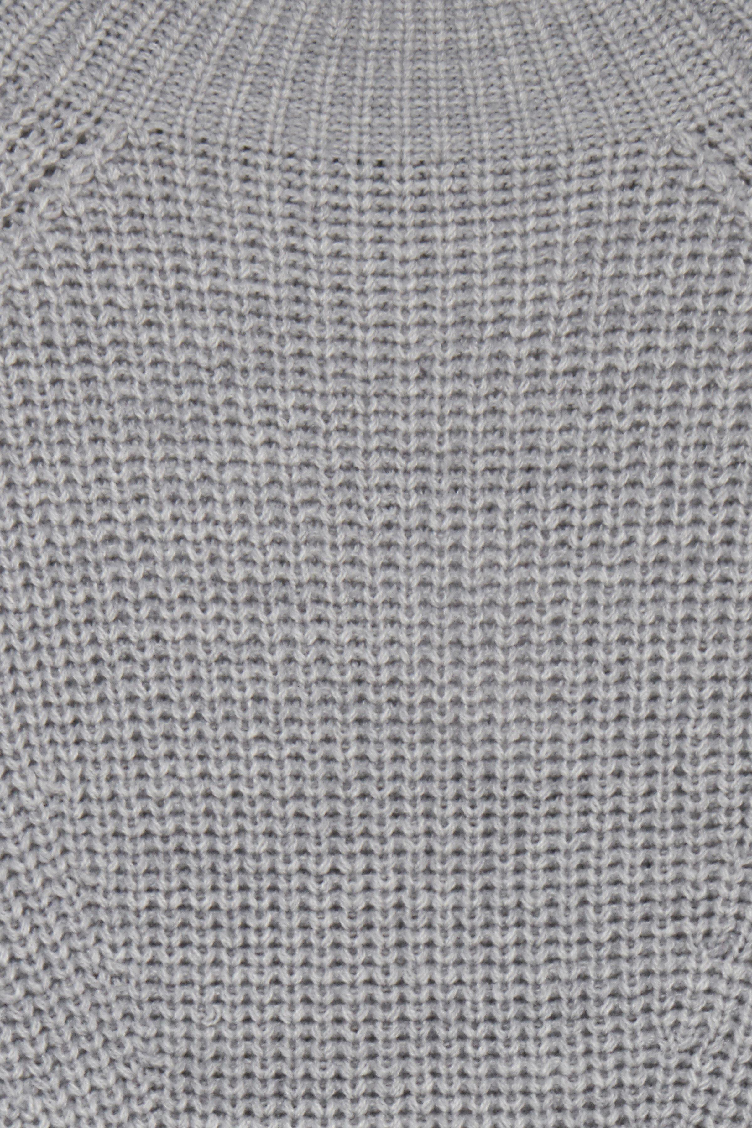Med. Grey Mel. Strikket tunika fra b.young - Kjøp Med. Grey Mel. Strikket tunika fra størrelse XS-XXL her